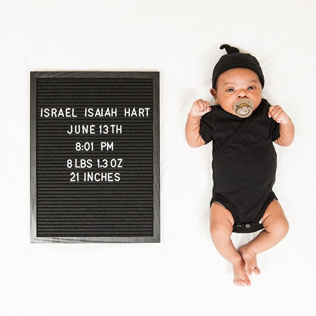 My boy 👶🏽#babyboy #baby #israelhart