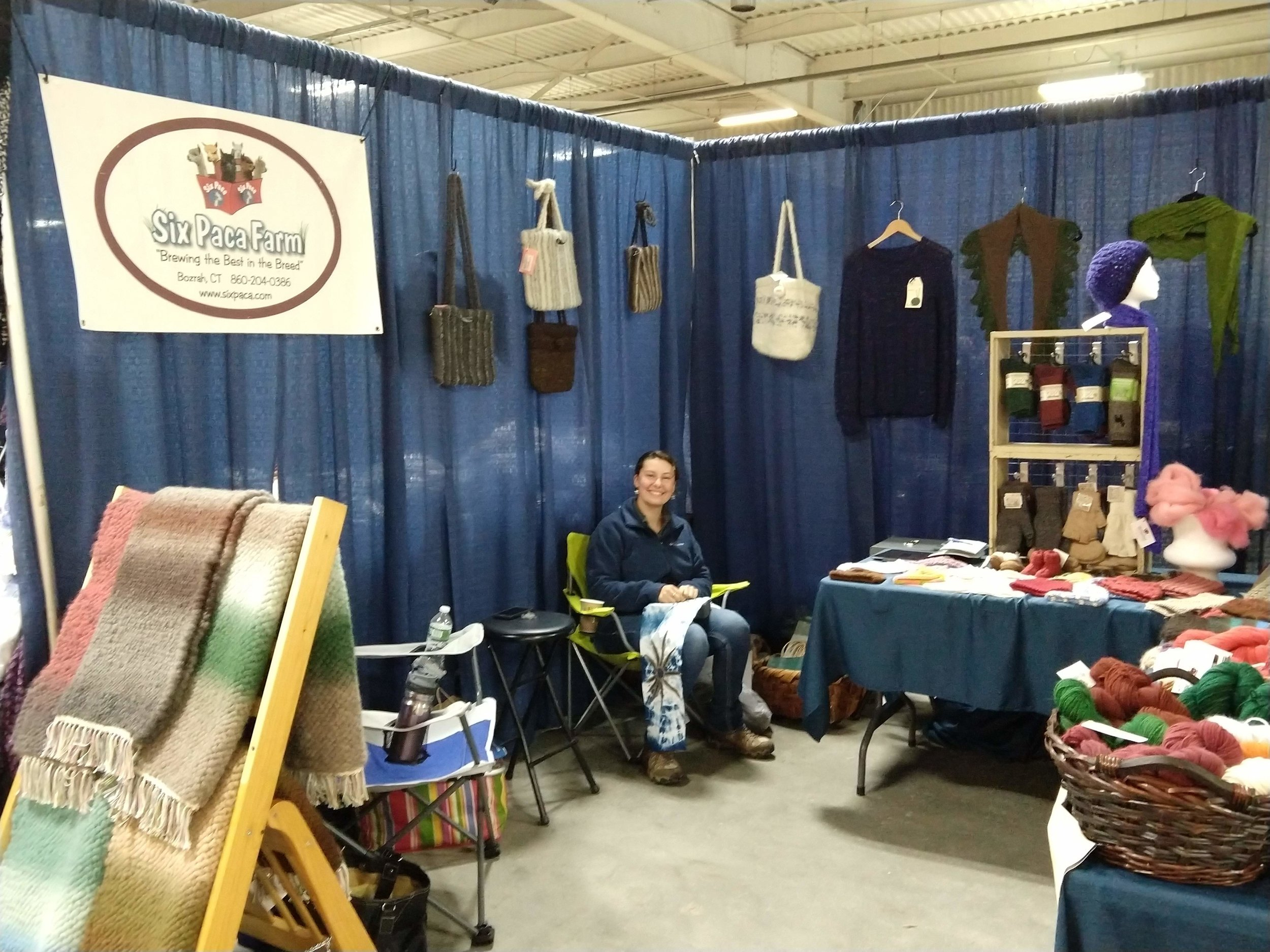 Six Paca Farm Booth