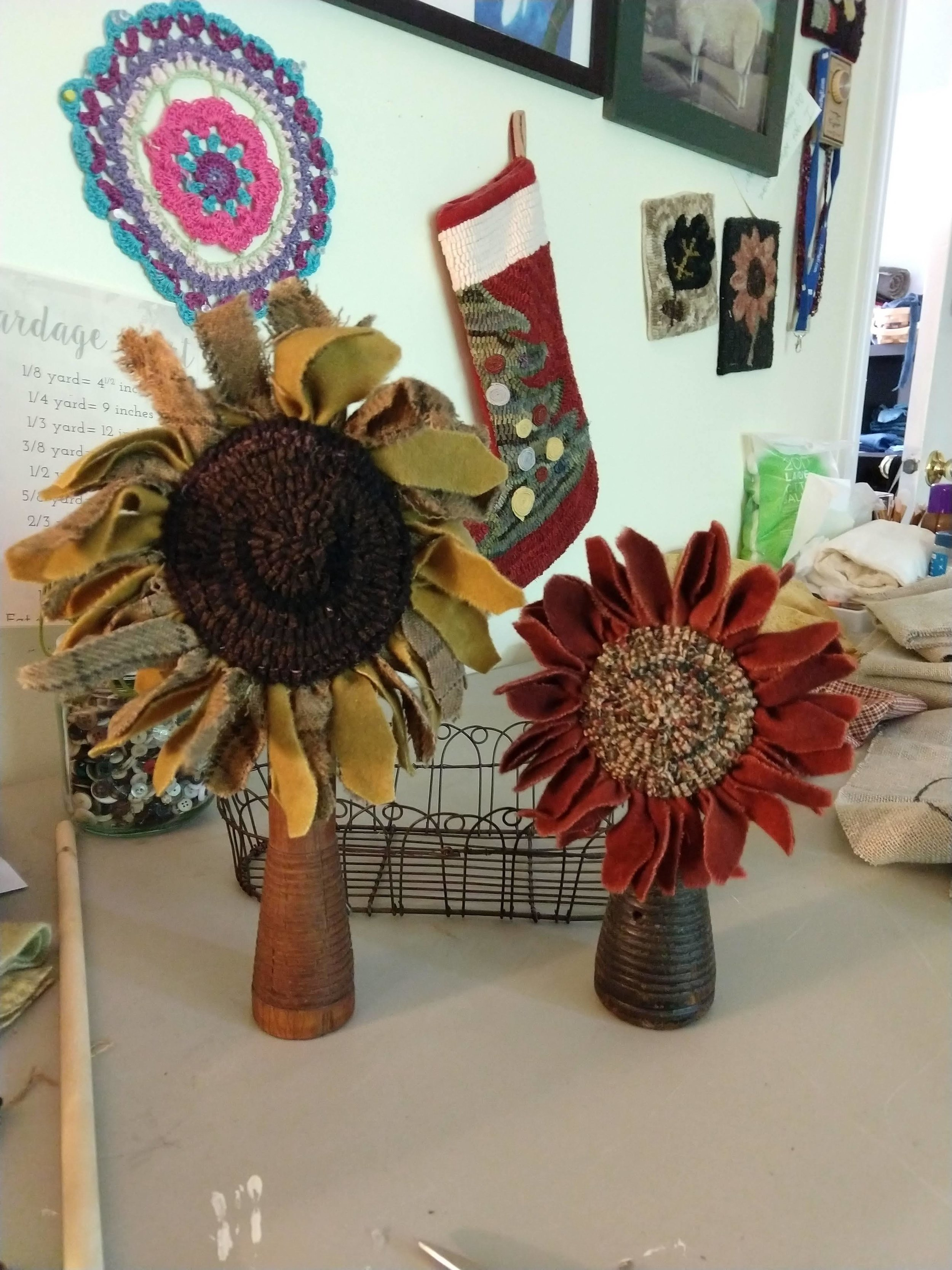 Sunflower Spools