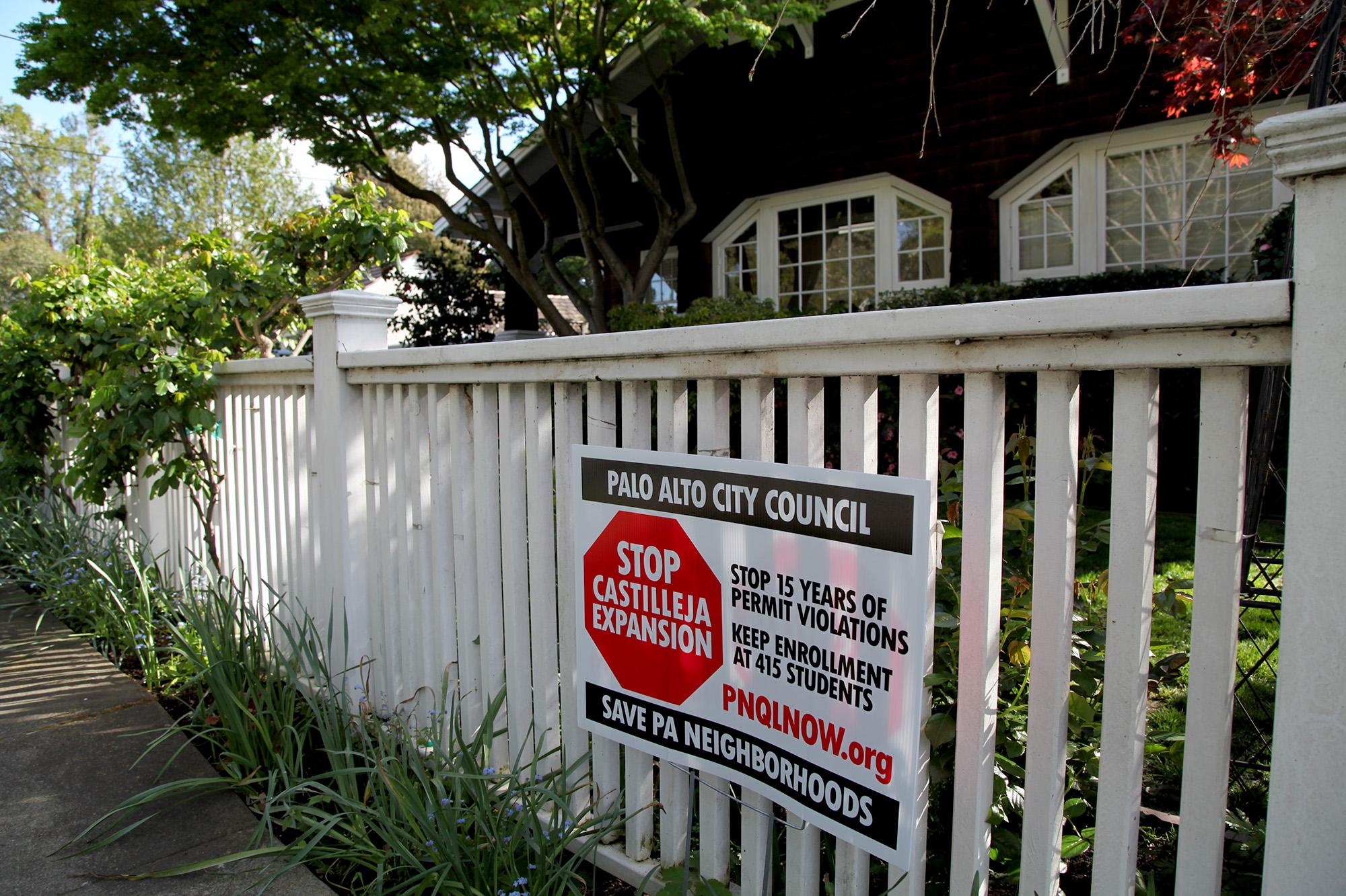 palo alto white fence