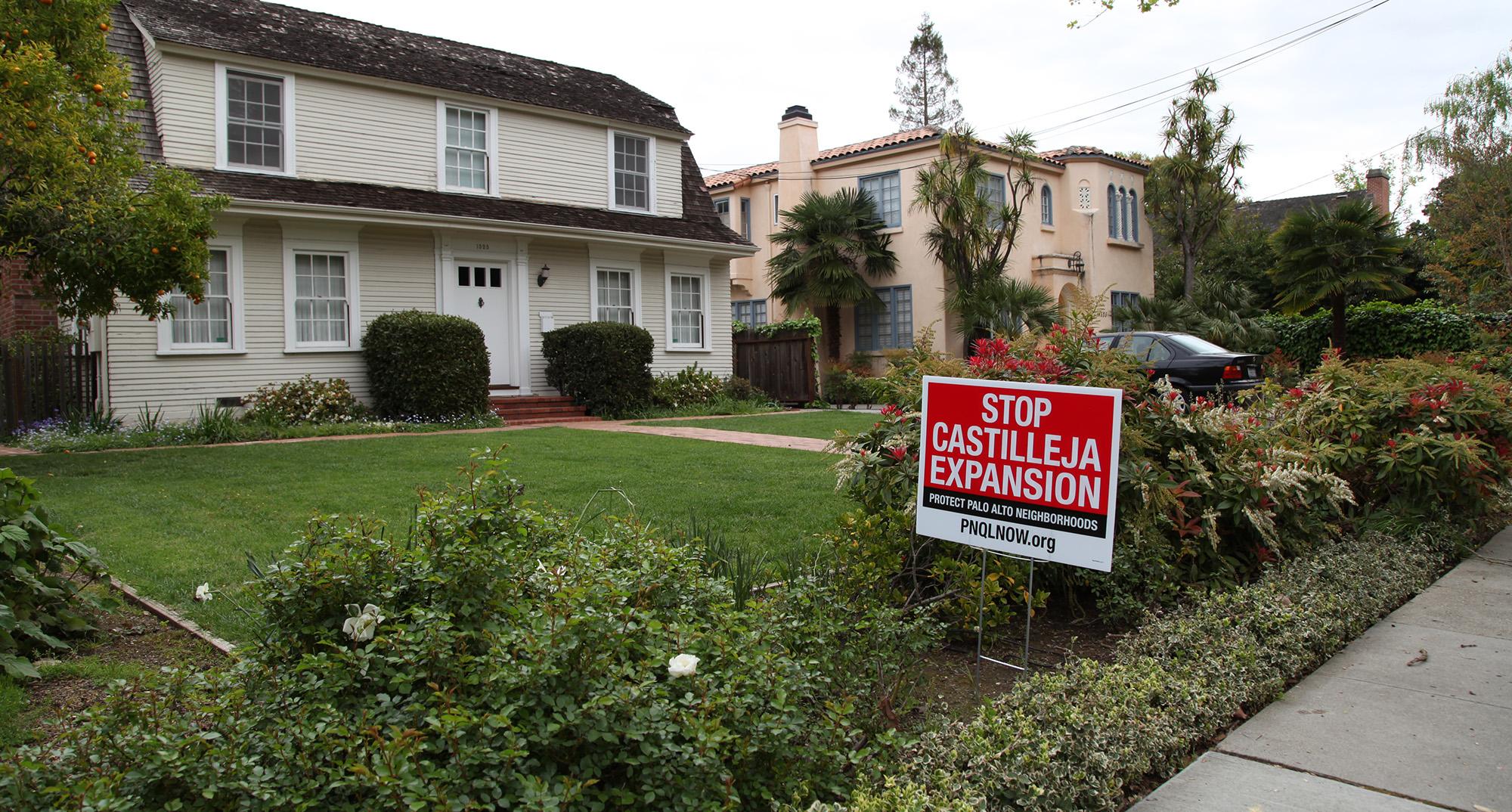 castilleja expansion irks neighbors