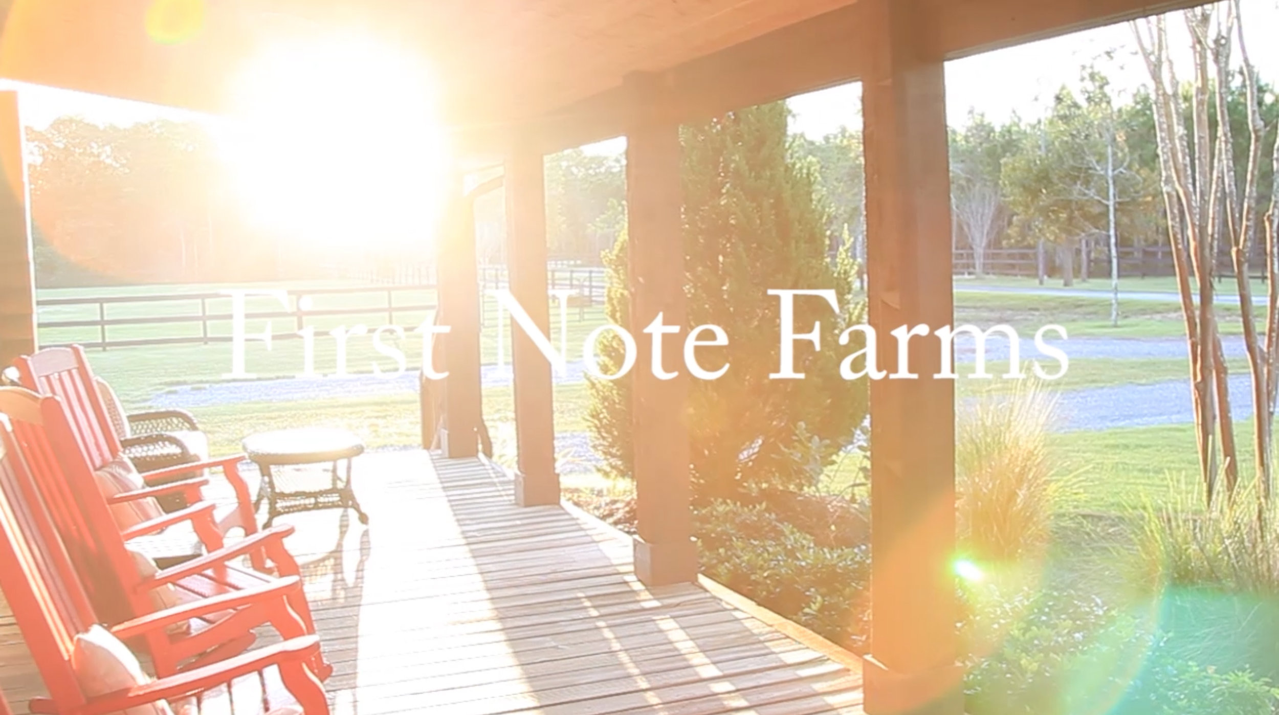 First Note Farms