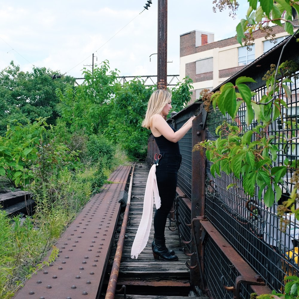 Aubrie Costello at The Rail Park. Photo by Billy Cress.