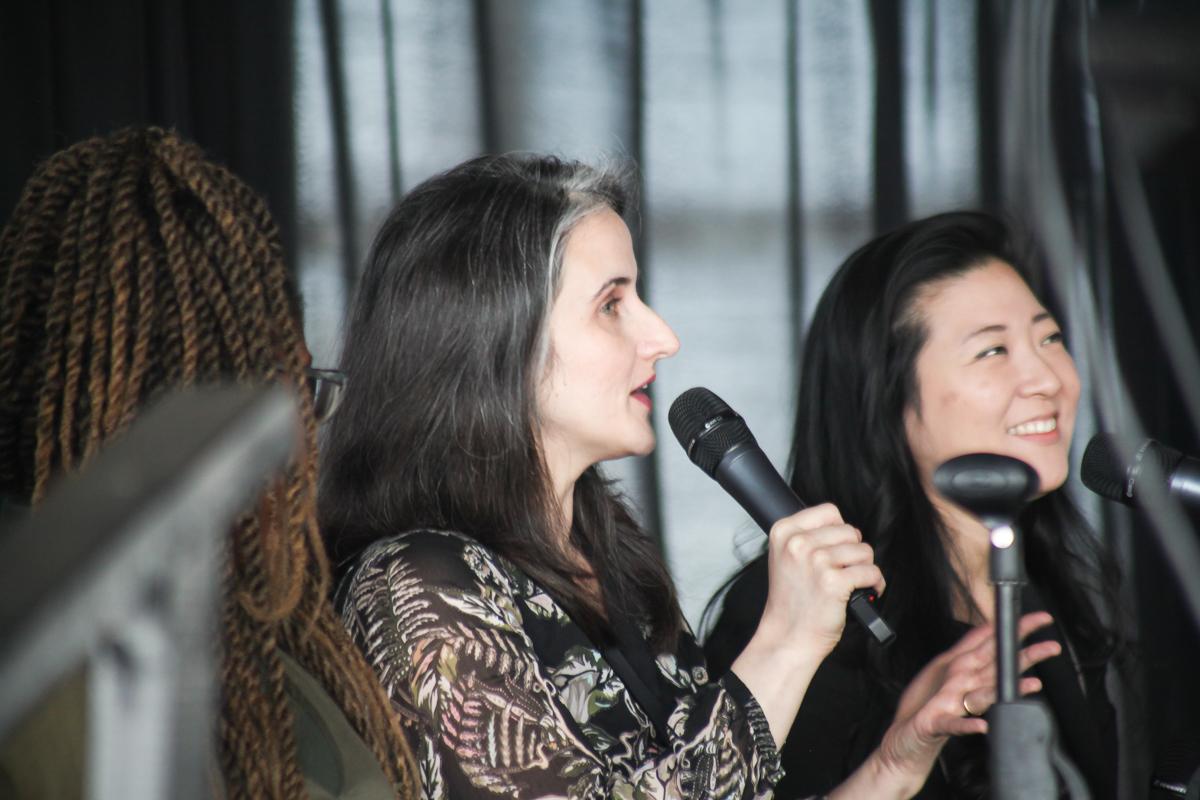 Karina Kacala, Marketing Manager at Opera Philadelphia.  Photo by Briana Sposato/In Between Rivers