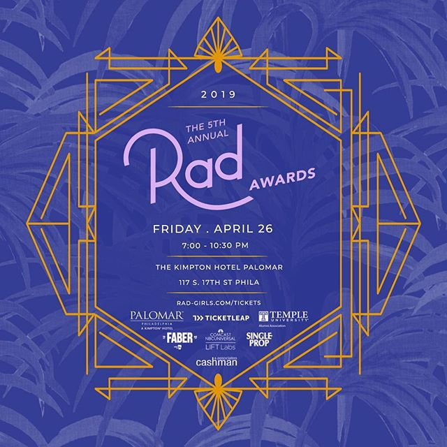 🚨 Rad Awards tickets are ALMOST sold out! Don't miss your chance to meet our incredible nominees and celebrate their achievements. 👑 Link to tickets in bio!