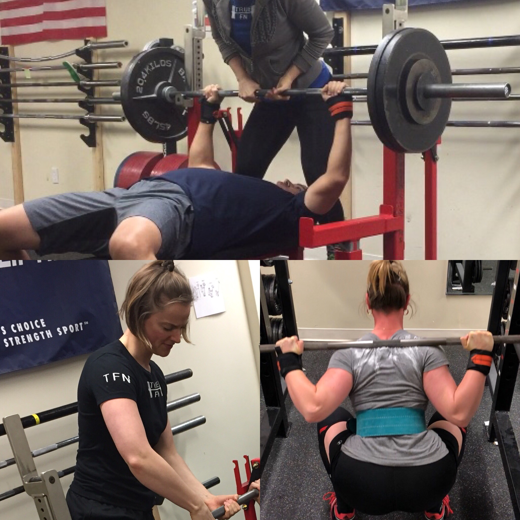 """I can do my job among the barbells because I """"do my job"""" under the barbell. photos: J. Stofferahn"""