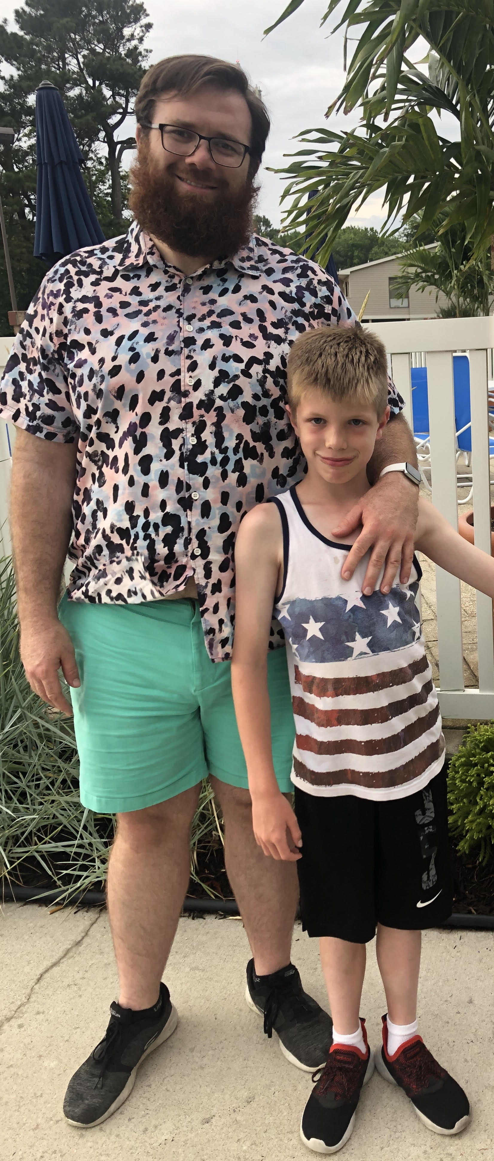 """""""Was able to ride my first roller coaster since right after college this week at Funland. I would not have even attempted it 6 months ago. Frank and I were able to ride together for the perfect father-son experience, one I almost missed out on. Now I got more of those coming my way."""""""