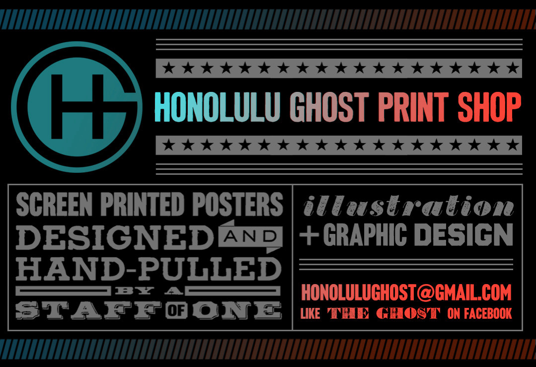 Honolulu Ghost Print Shop