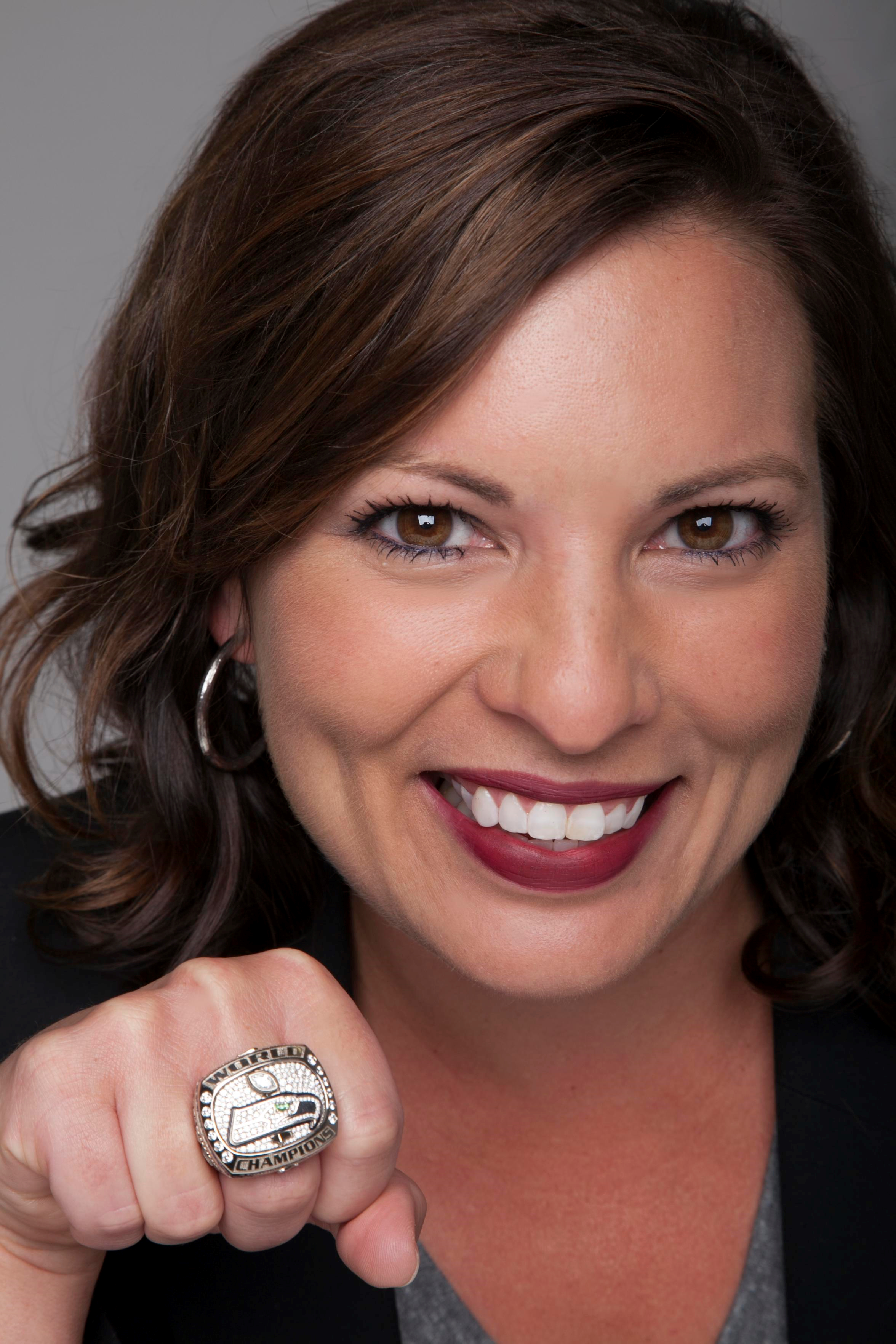 Jen Mueller - Talk Sporty to Me - how talking sports boost your career