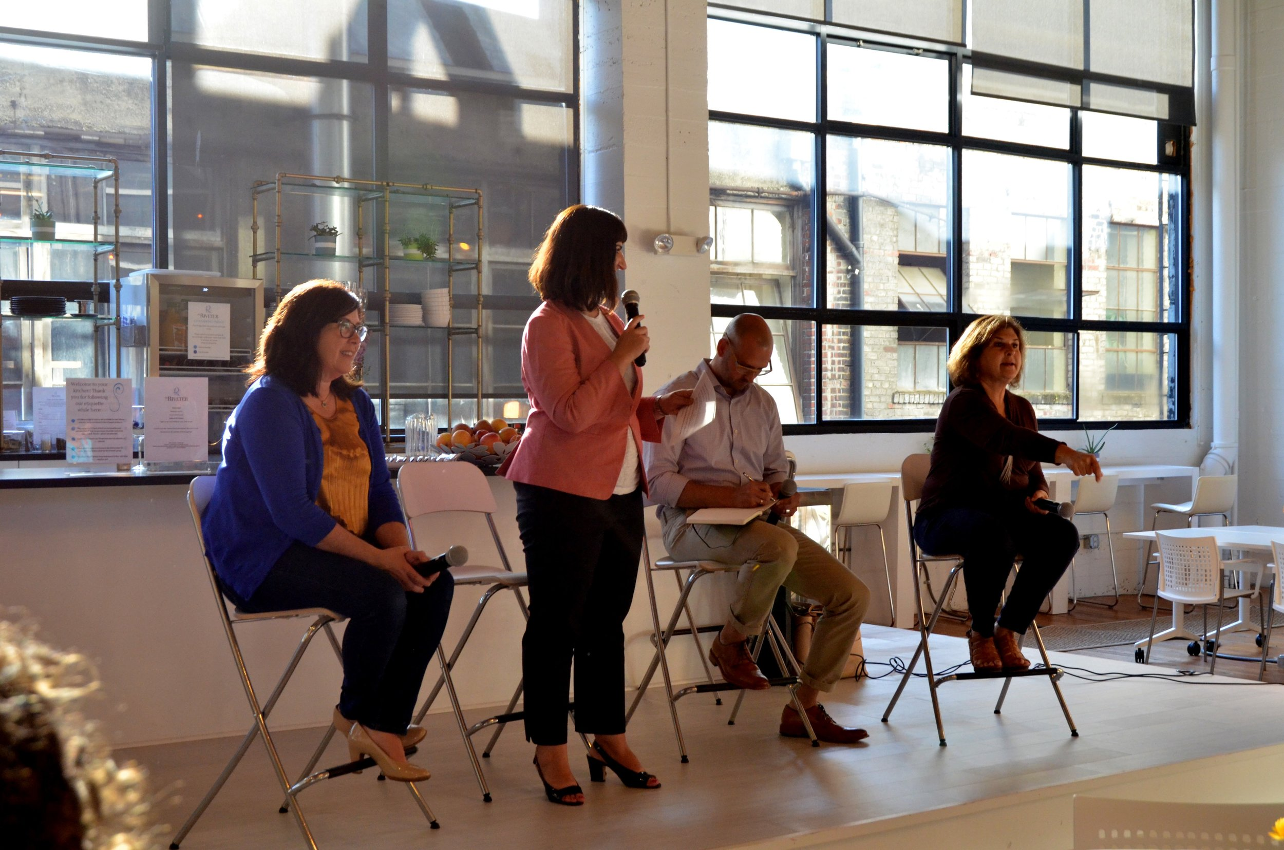 Leadership of you Speakers panel moderated by Danna Redmond