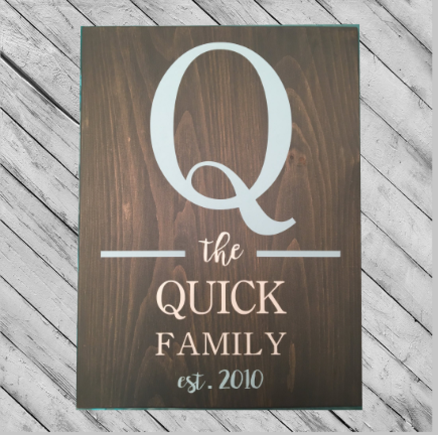 Family Sign #2