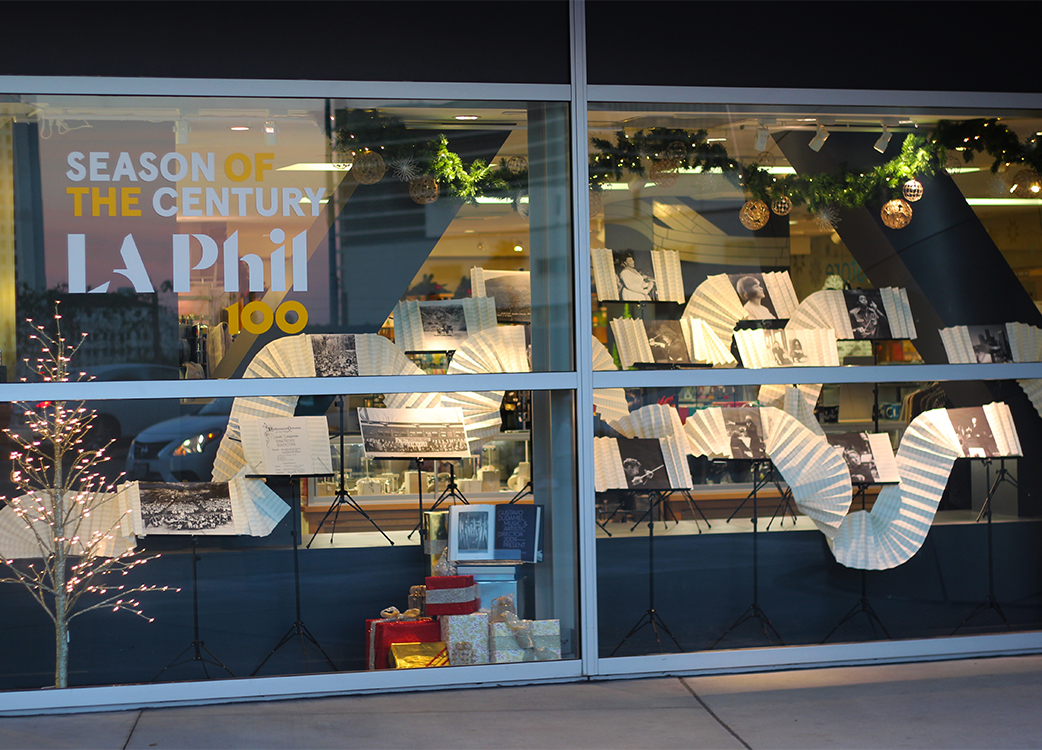 windowdisplay-laphil100-book-sculpture-sheetmusic.jpg