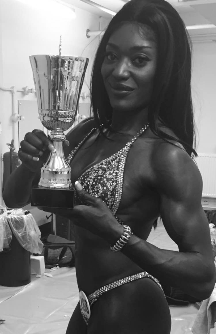 Delaney Bucknor,   Pro-Elite Fitness Competitor,   2015 UKBFF & Miami Pro World Champion