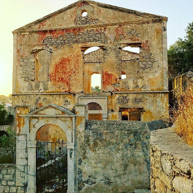 Old ruins of Symi, Greece