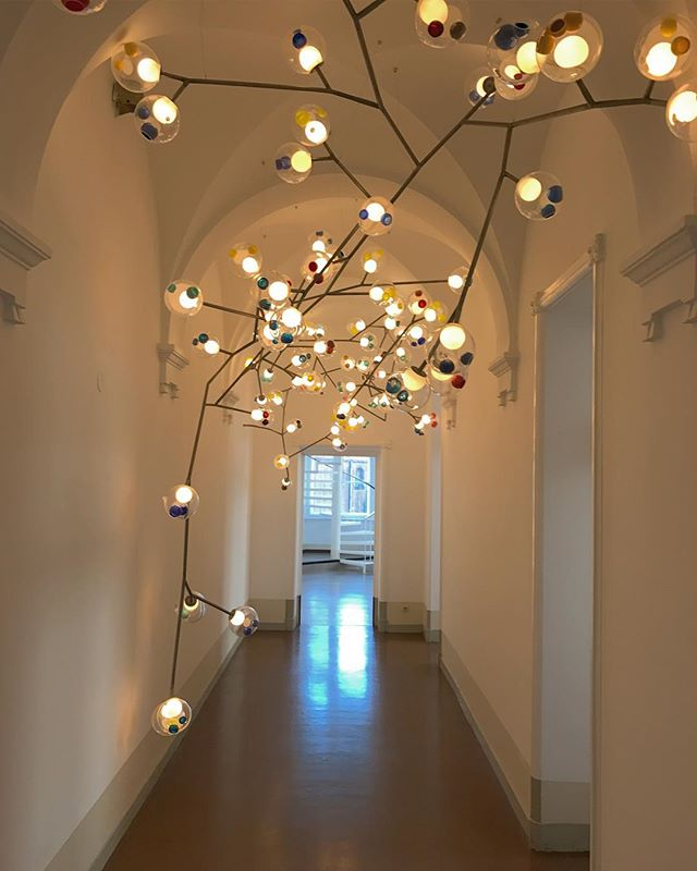 We had a wonderful visit to Bocci's Showroom in Berlin today. So much magic! ✨ #bocci #berlin #lightingdesign #omerarbel #magic