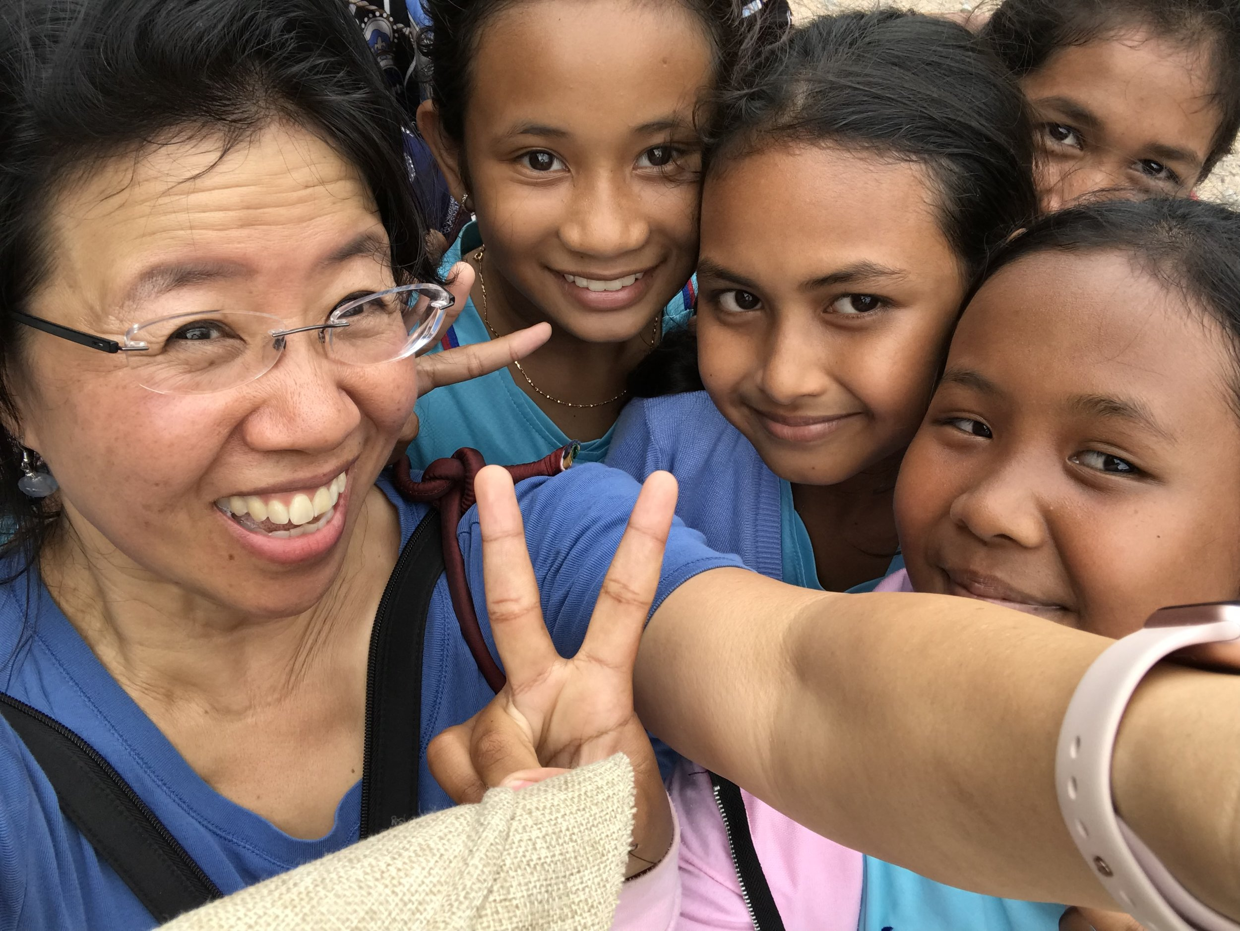 Doreen Ong, a mother from Singapore. She joined TASSEL four years ago when her eldest daughter joined the Singapore American School chapter.