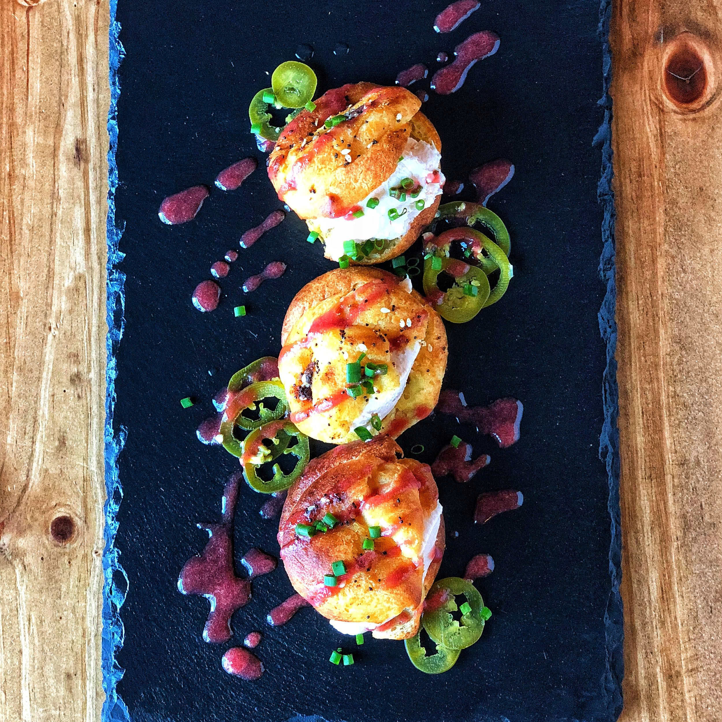 Everything Spiced Profiteroles