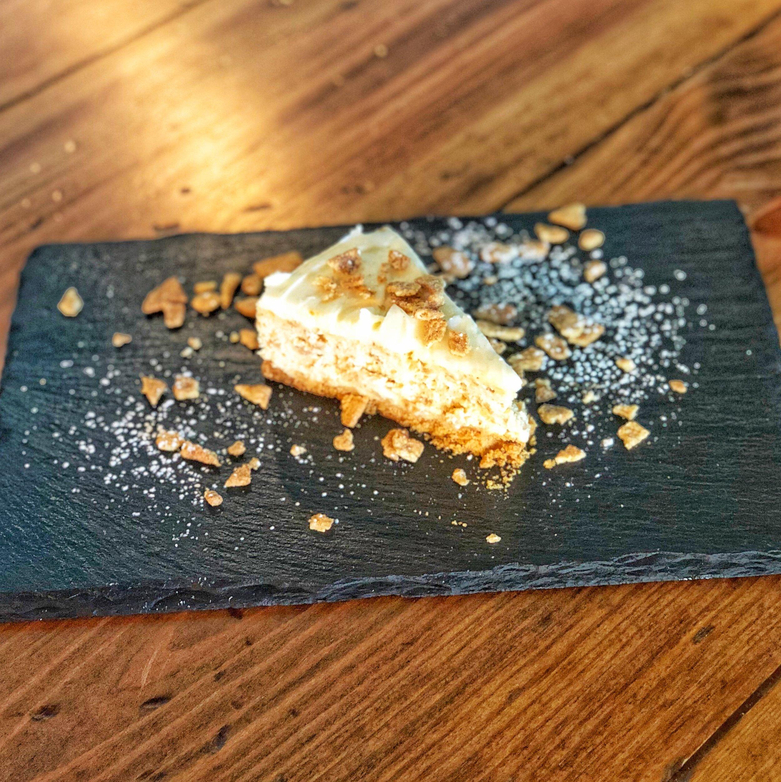 Cinnamon Crunch Cheesecake