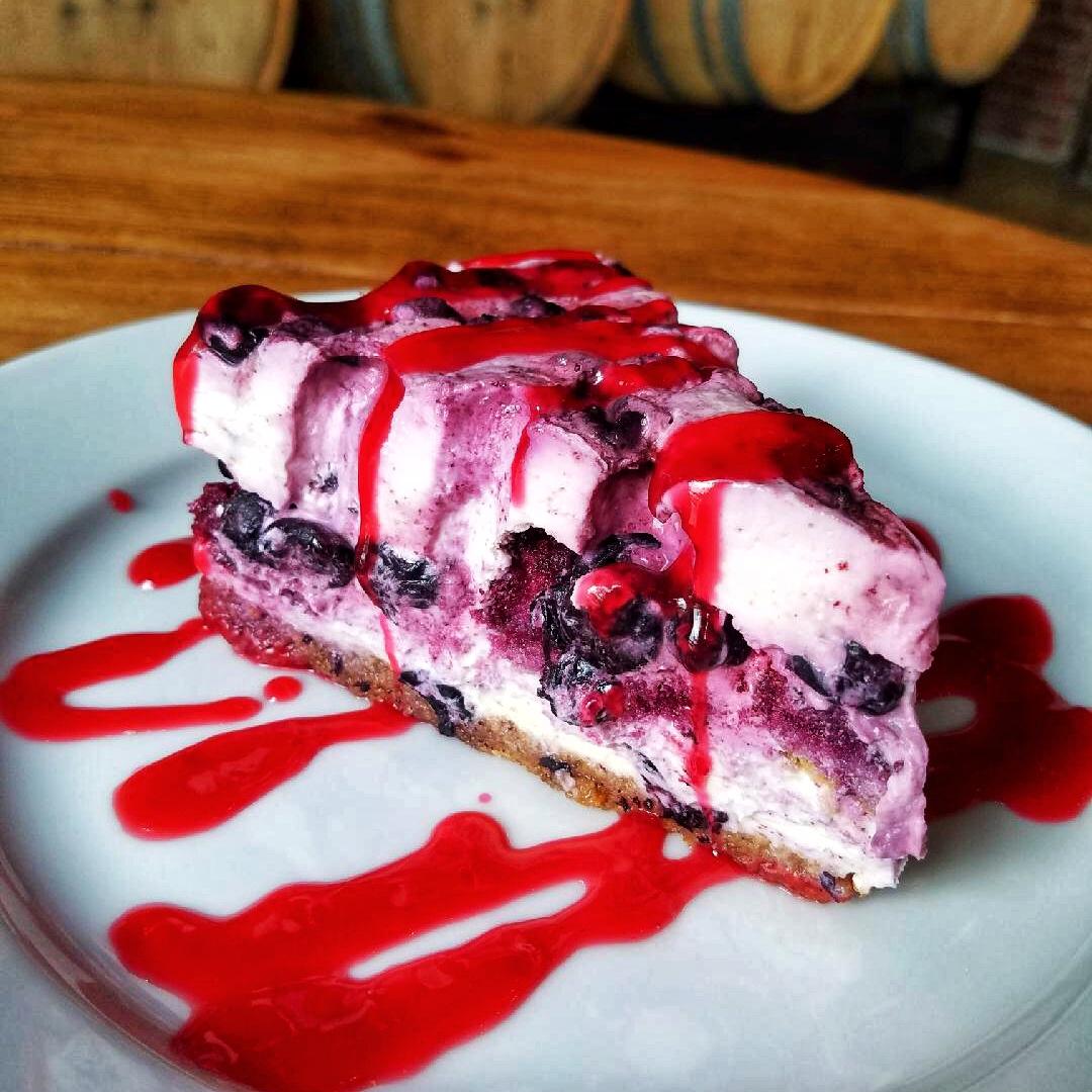 Blueberry Trifle Pie