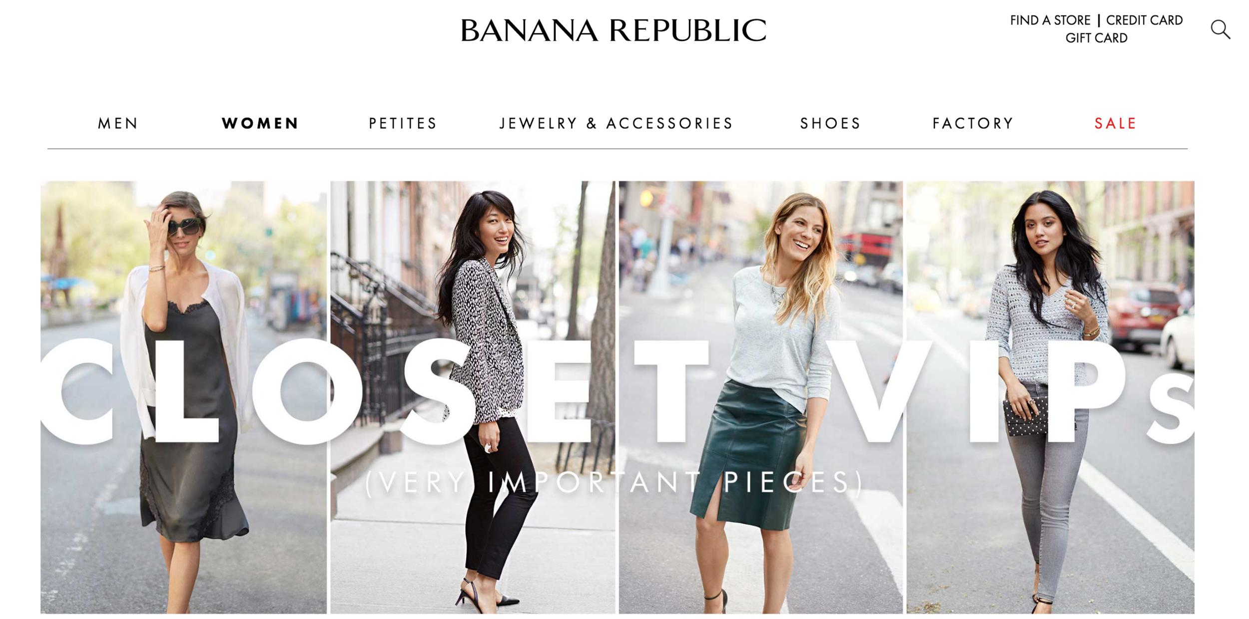 Banana Republic Closet VIP