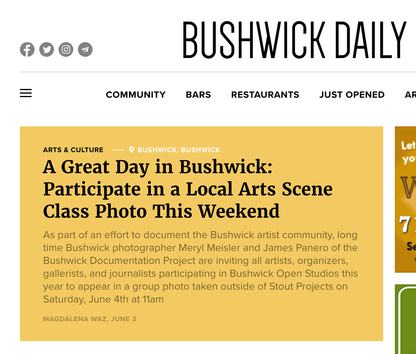 READ MORE FROM BUSHWICK DAILY...
