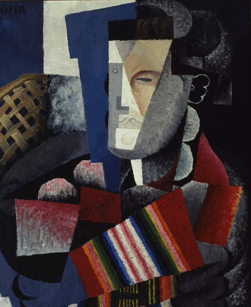 Portrait of Martín Luis Guzmán  , 1915, by Diego Rivera (Fundación Televisa Collection) © Banco de México Diego Rivera Frida Kahlo Museums Trust, Mexico, D.F./Artists Rights Society (ARS), New York