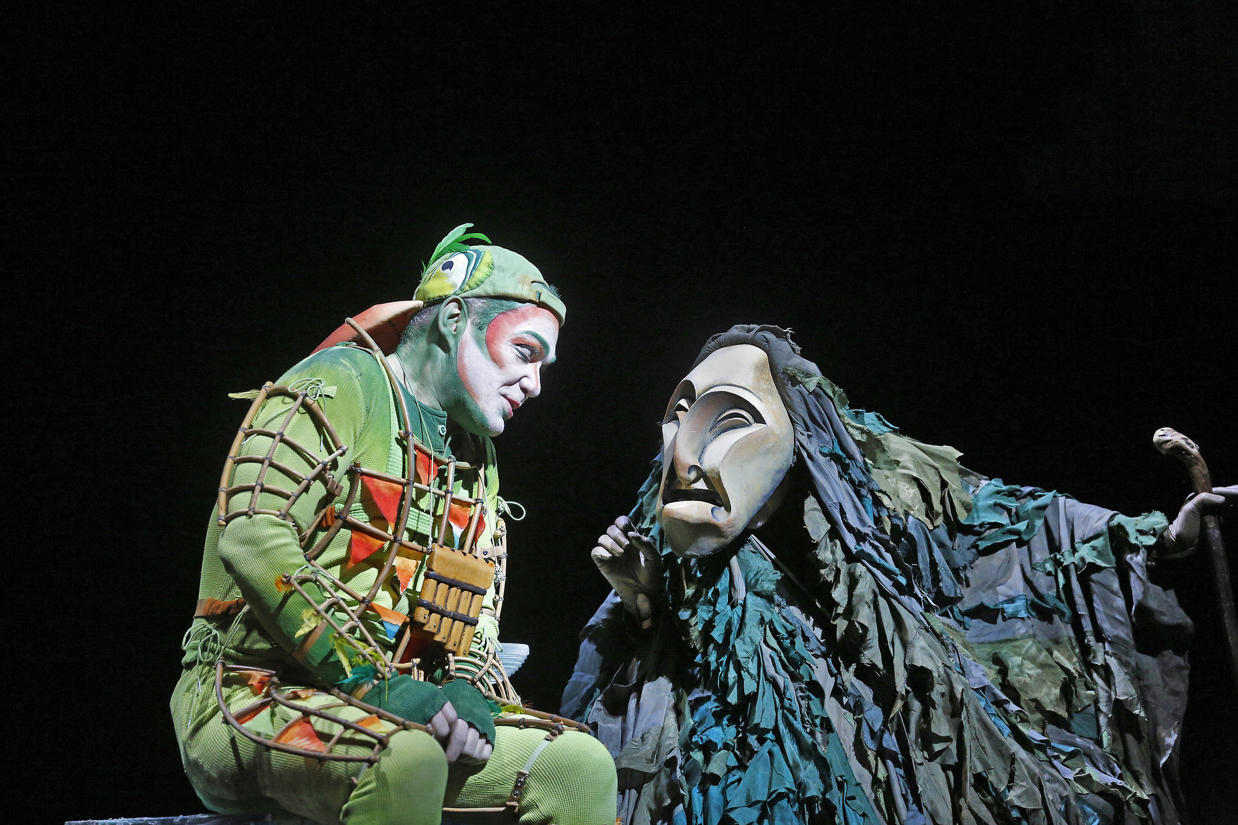 "Christopher Maltman as Papageno in Mozart's ""The Magic Flute.""   Photo: Ken Howard/Metropolitan Opera"