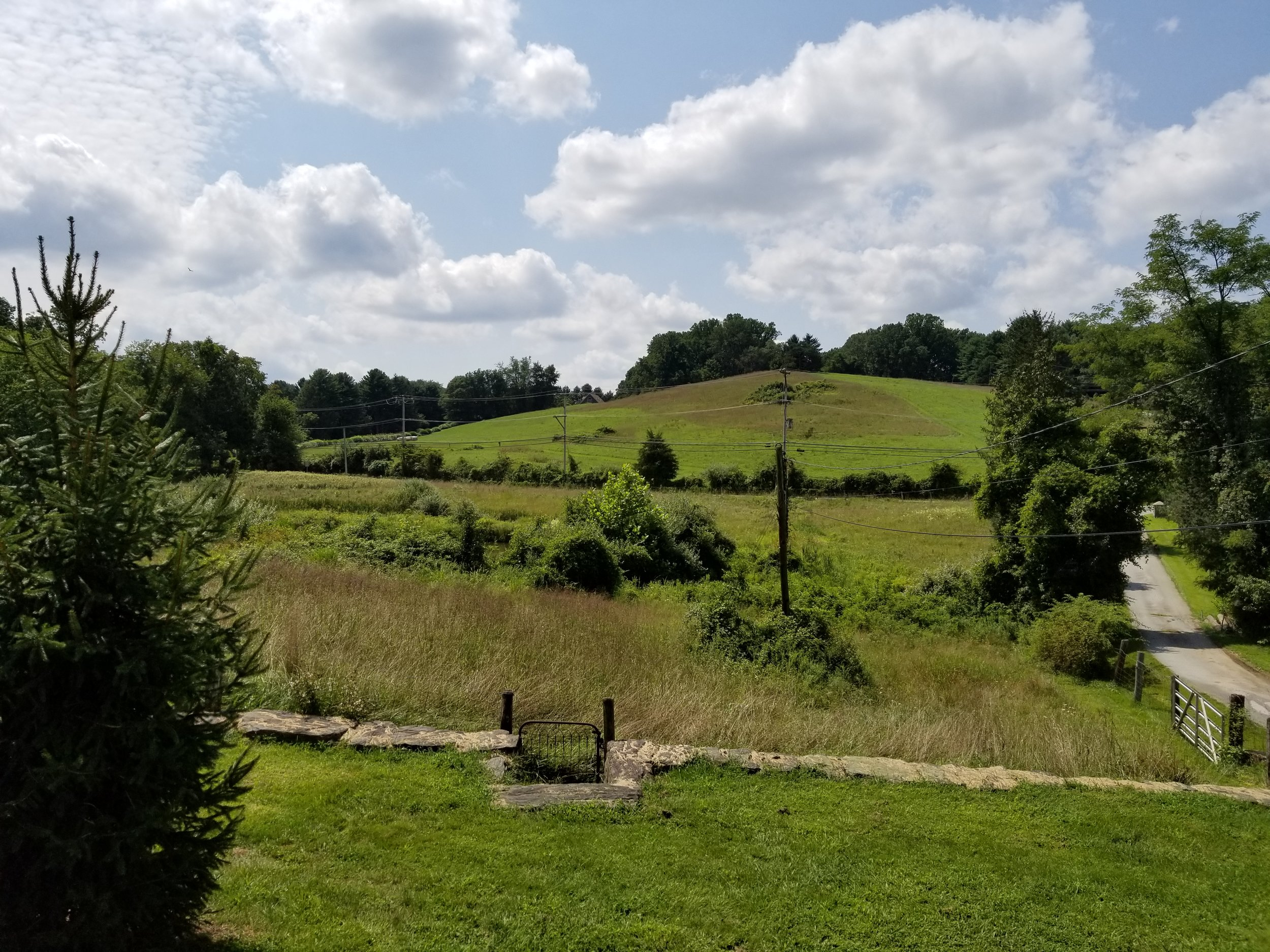 The view today of Kuerner's Hill from Kuerner Farm. Photo: James Panero