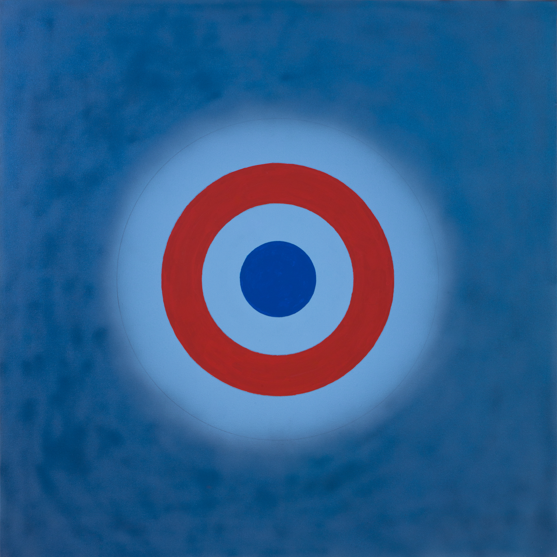 Kenneth Noland , Magic Theatre, 2000 , Acrylic on canvas , Yares Art