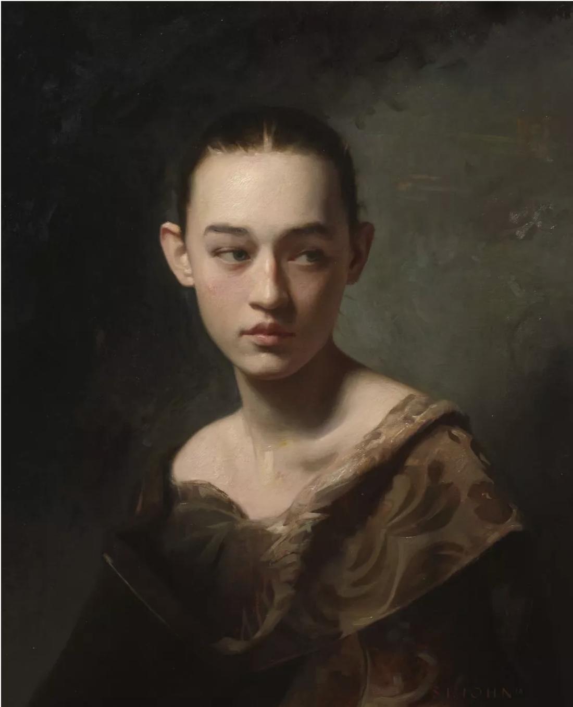 Will St. John , untitled, 2018 , Oil on linen , Robert Simon Fine Art.