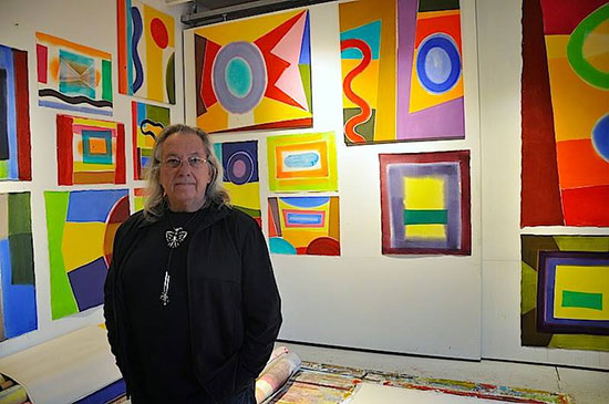 Richard Timperio in his gallery in Williamsburg, Brooklyn. Photo: Paul Behnke.