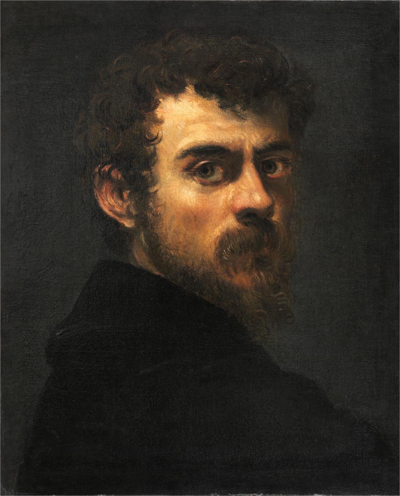 Tintoretto 'Self-Portrait' (c. 1546/47) PHOTO: THE PHILADELPHIA MUSEUM OF ART/A