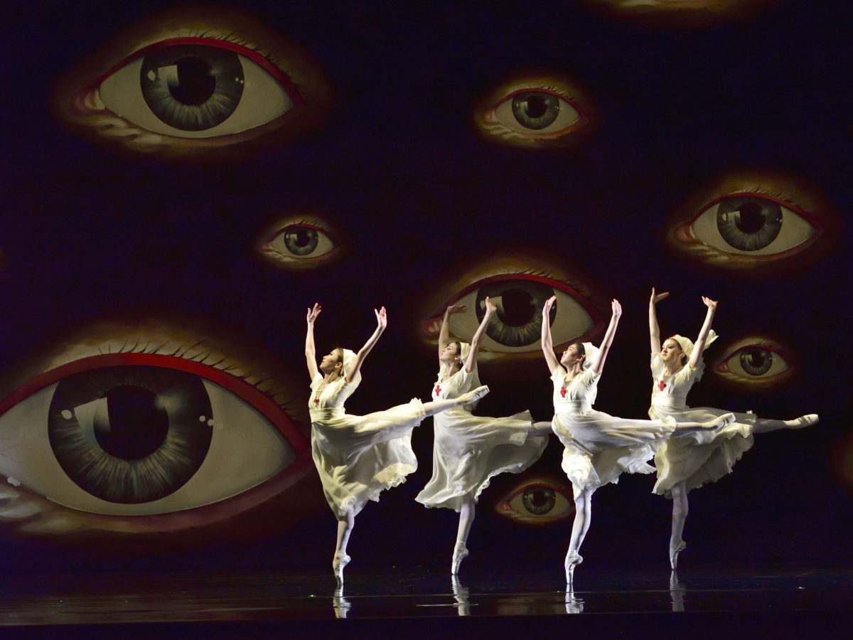 A scene from Whipped Cream at American Ballet Theatre. Photo: Gene Schiavone.