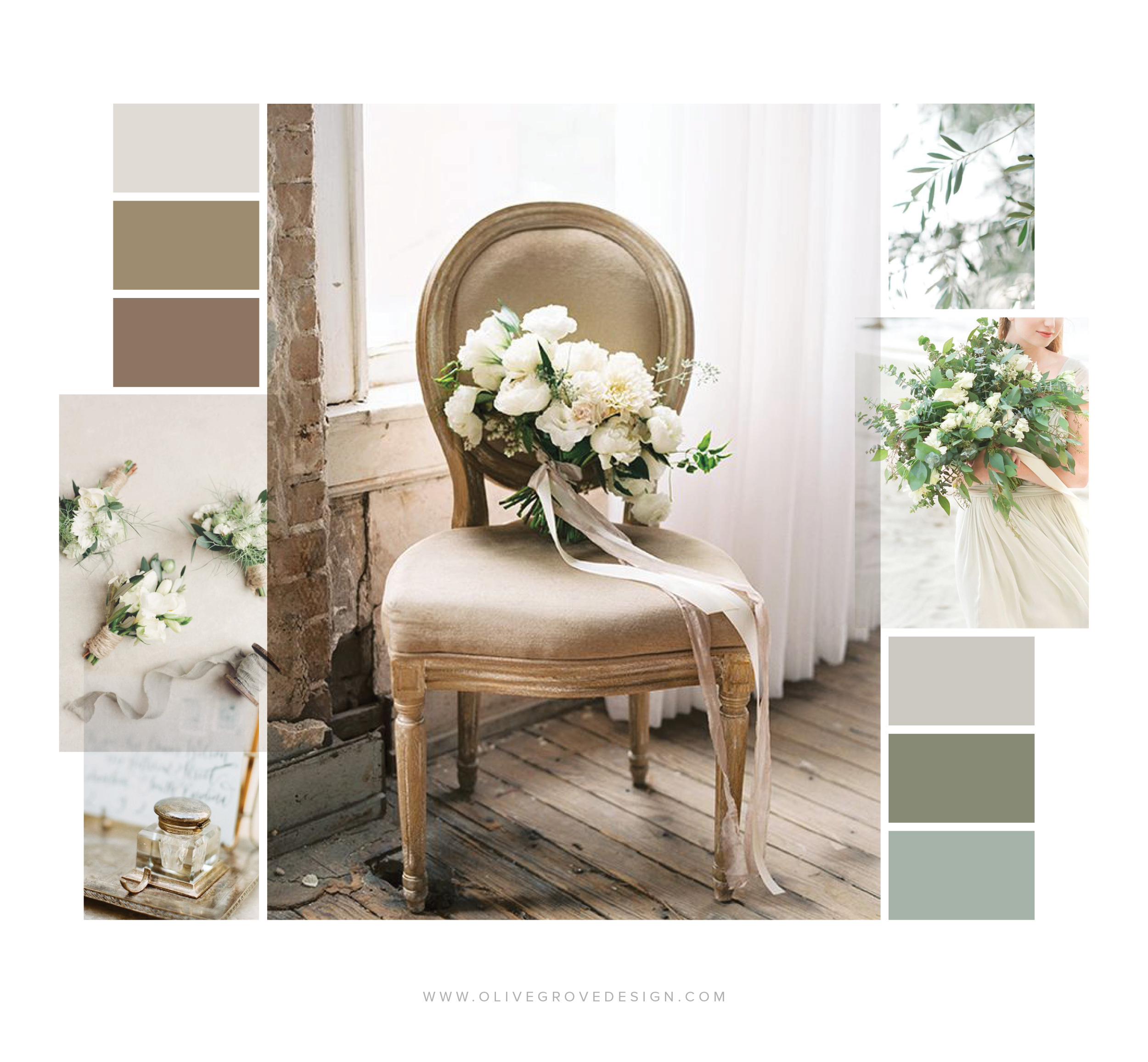 Natural Floral Design | Olive Grove Design
