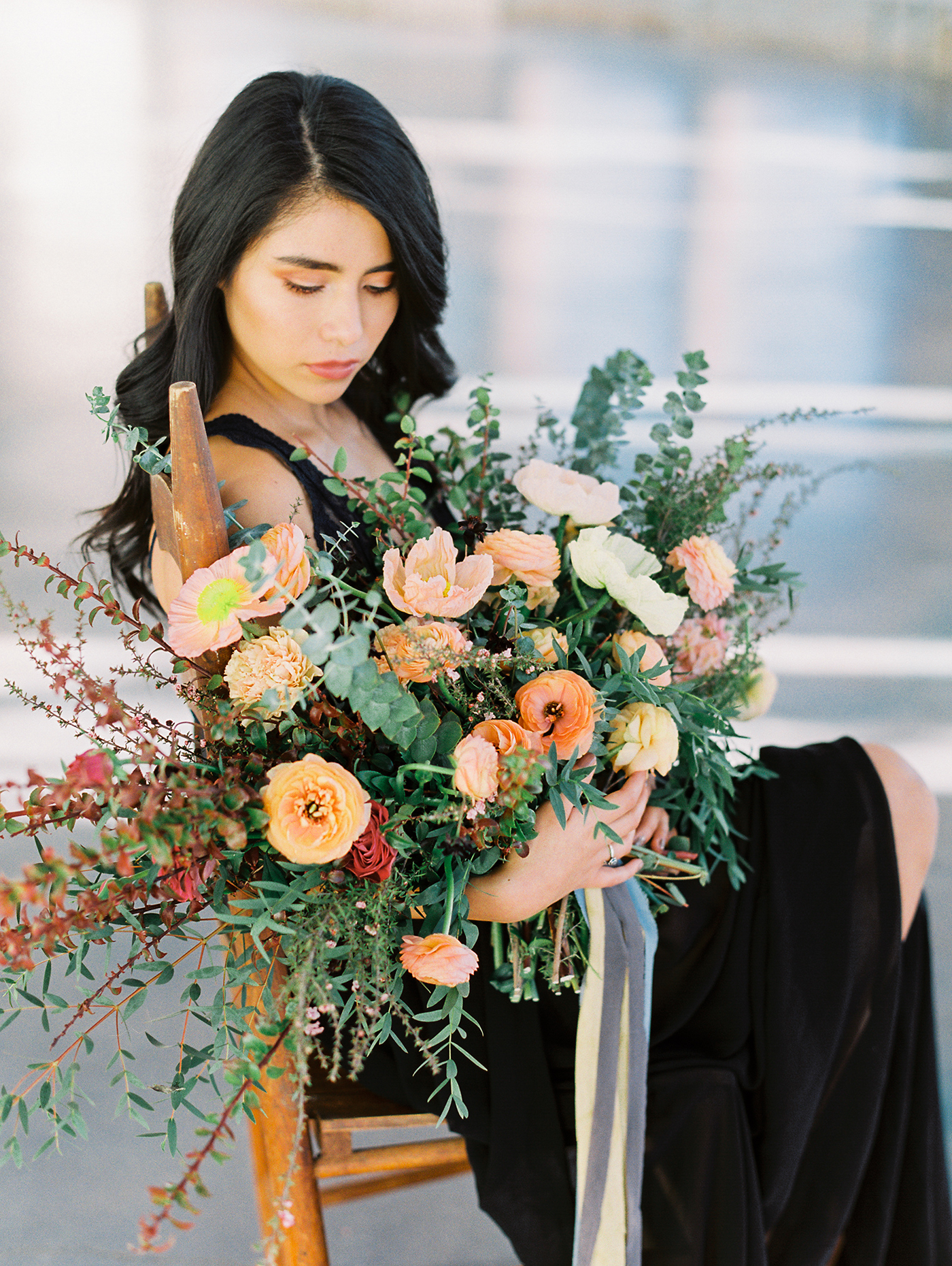 Moody Organic Floral Design | Olive Grove Design, Dallas Wedding Floral Design