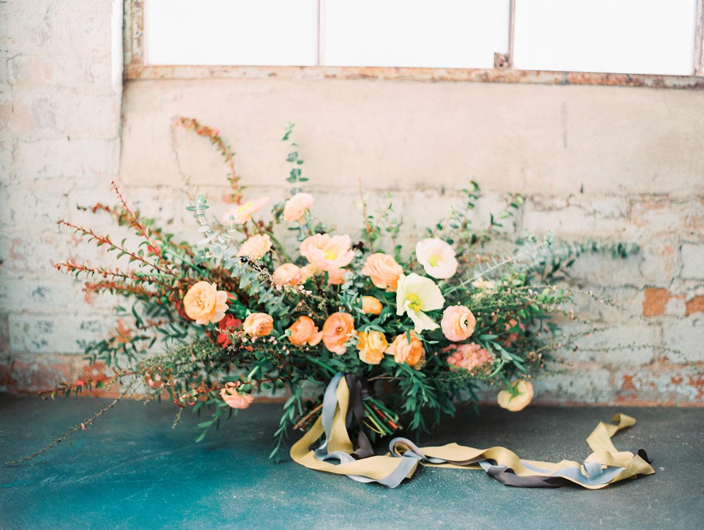 Moody Organic Floral Design   Olive Grove Design