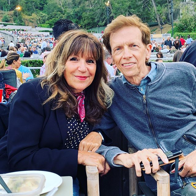 We're at the #hollywoodbowl first time this season. David orchestrated #chrissiehynde's songs for tonight. Should be really great!