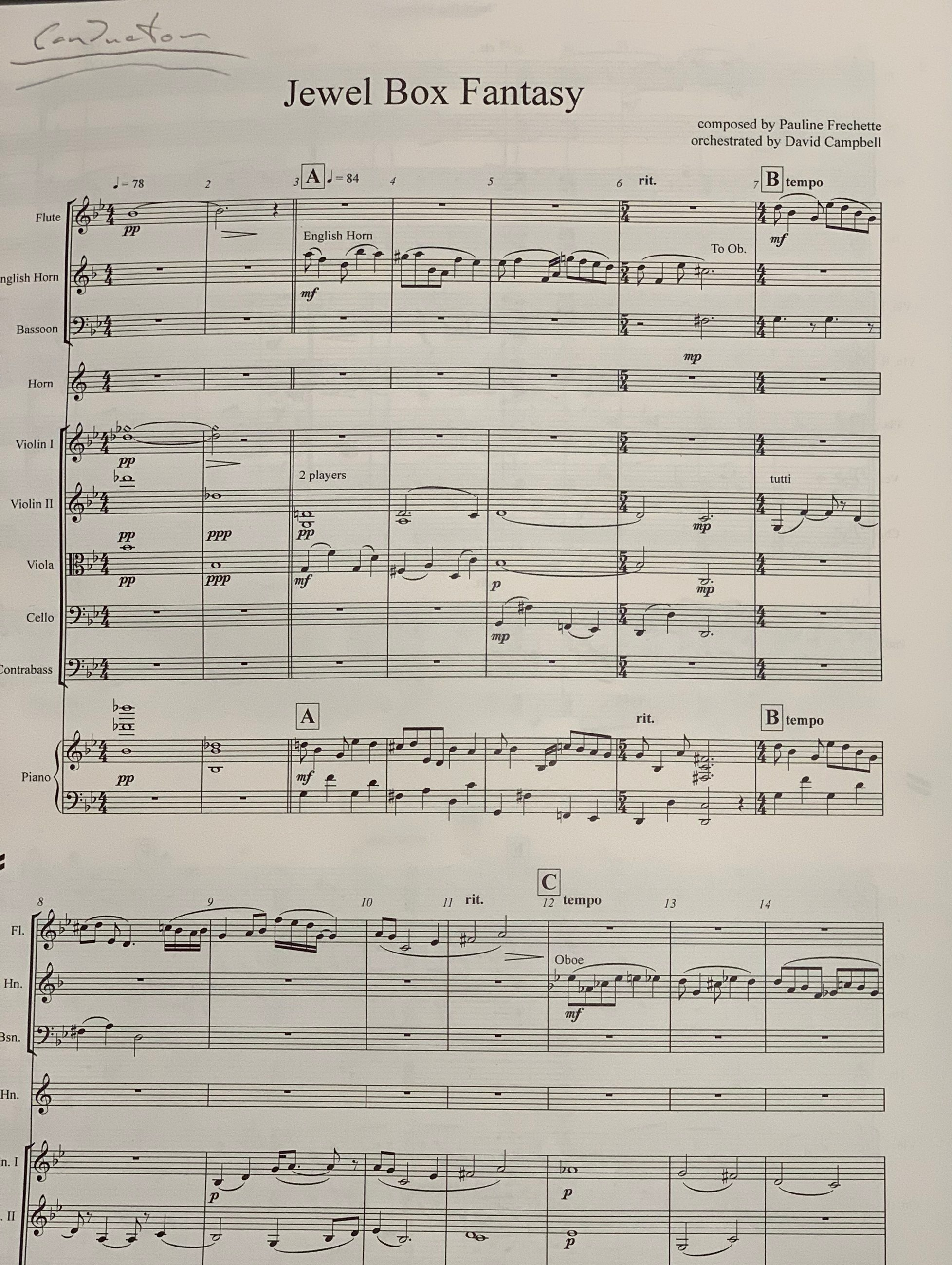 Jewel Box Fantasy score