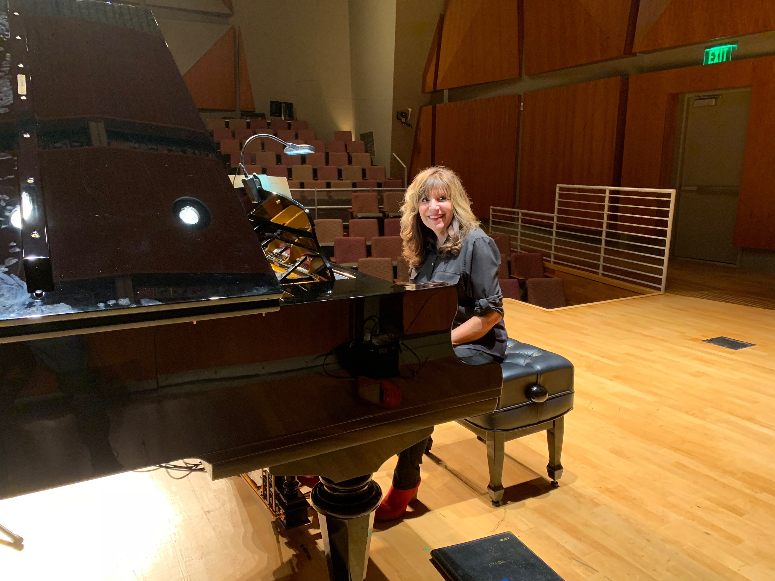 Recording at Thayer Hall at The Colburn School