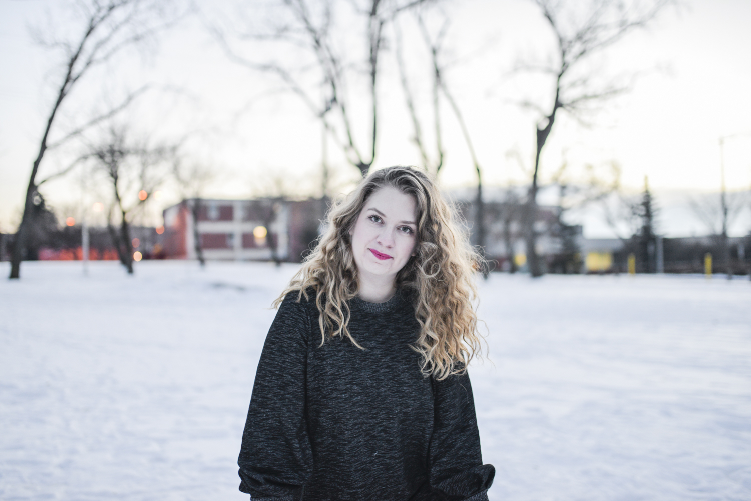 Danielle Knibbe – Toronto-based, Edmonton-raised Singer/Songwriter.  Photo by Wendy Mulder