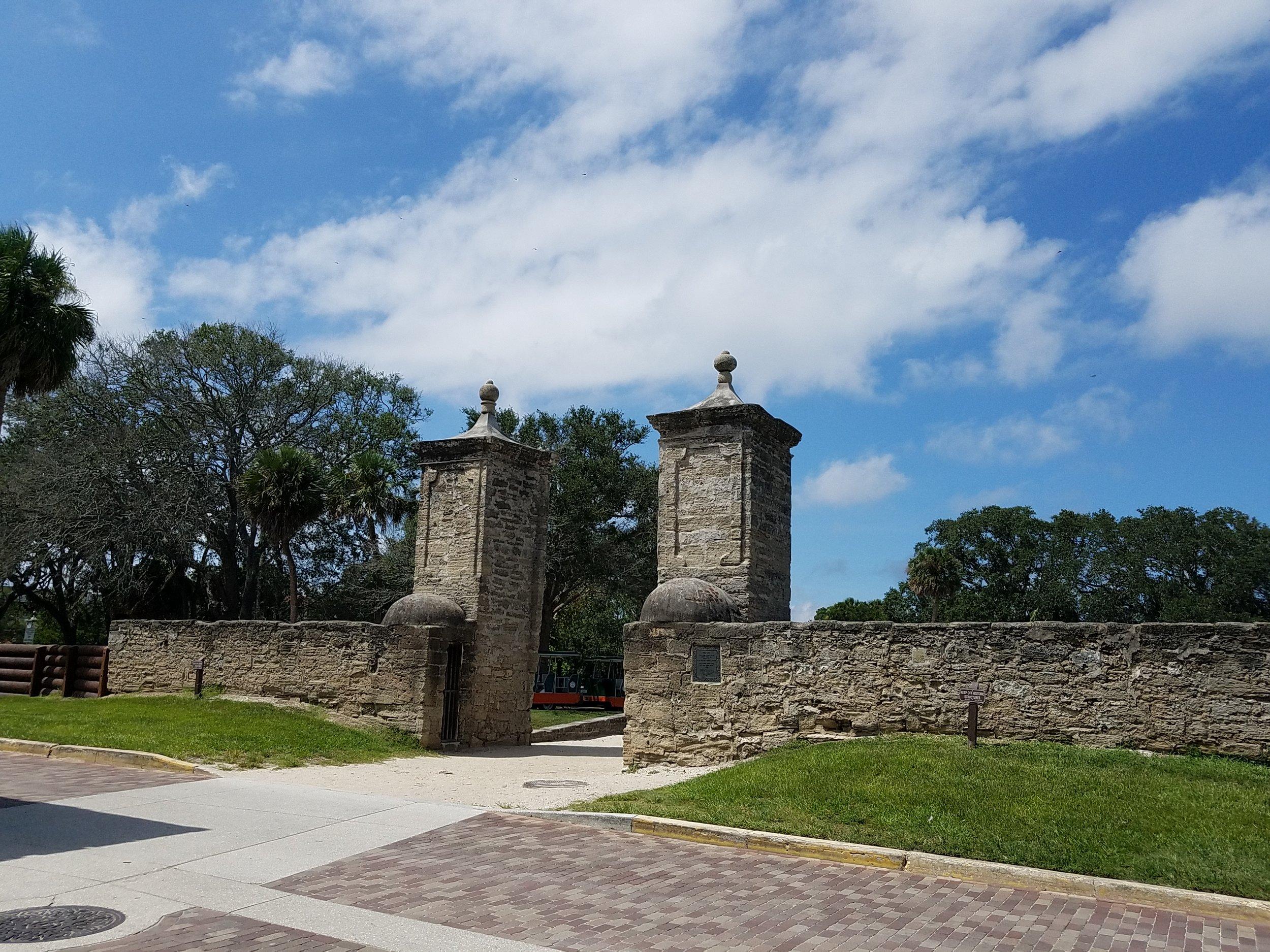 Original city gate