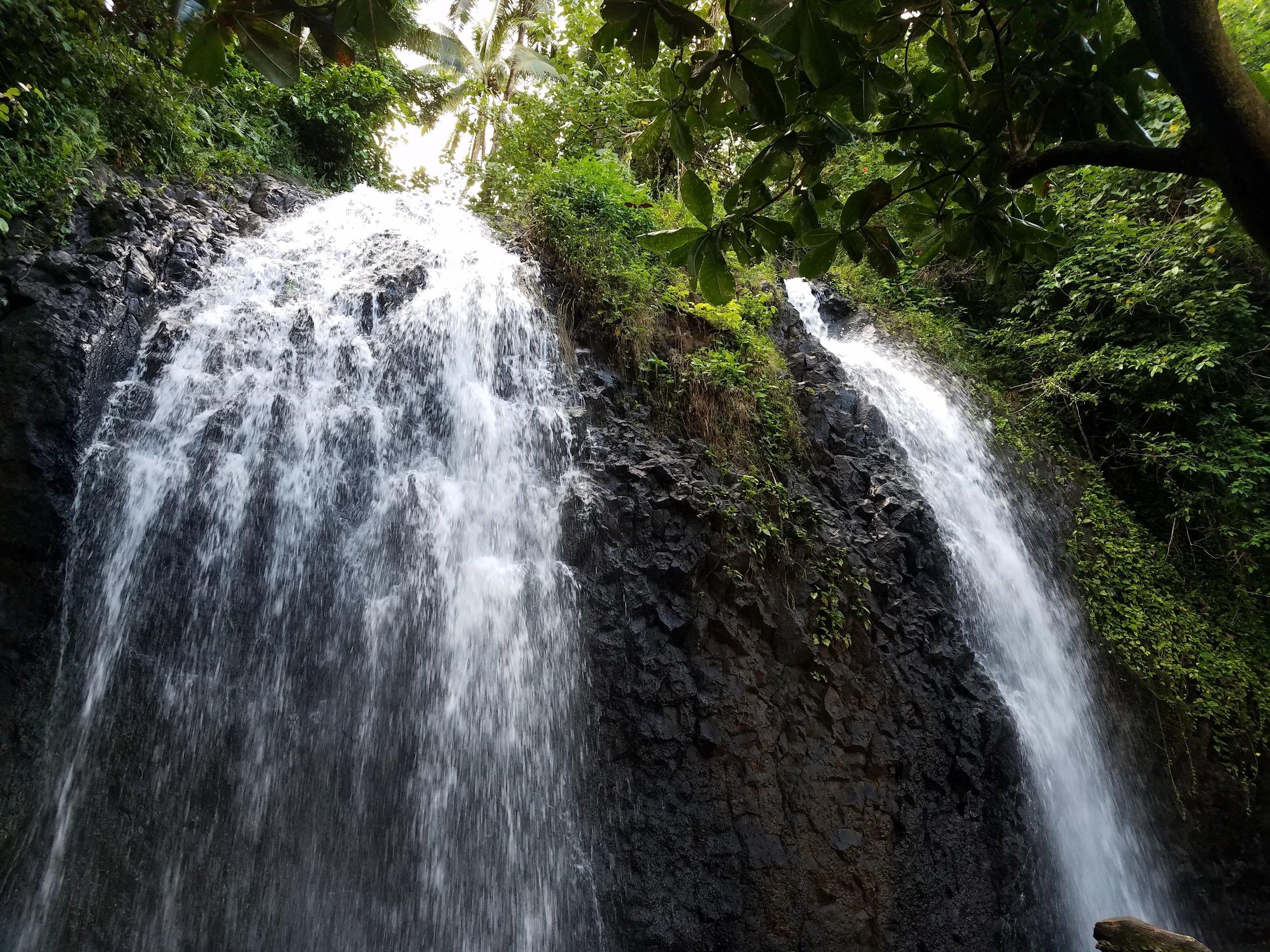 Waterfall, Tahiti