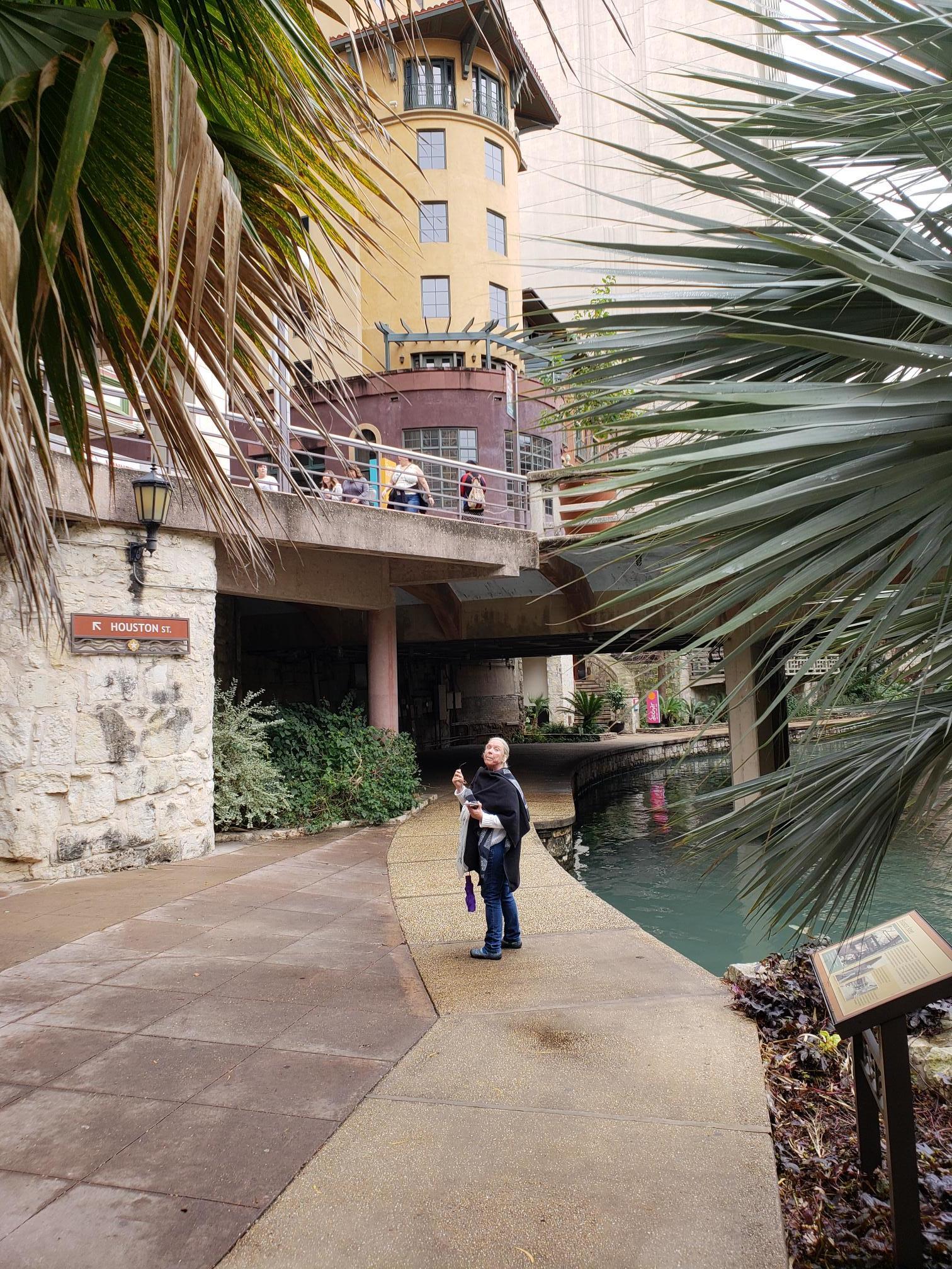 Lydia on the Riverwalk