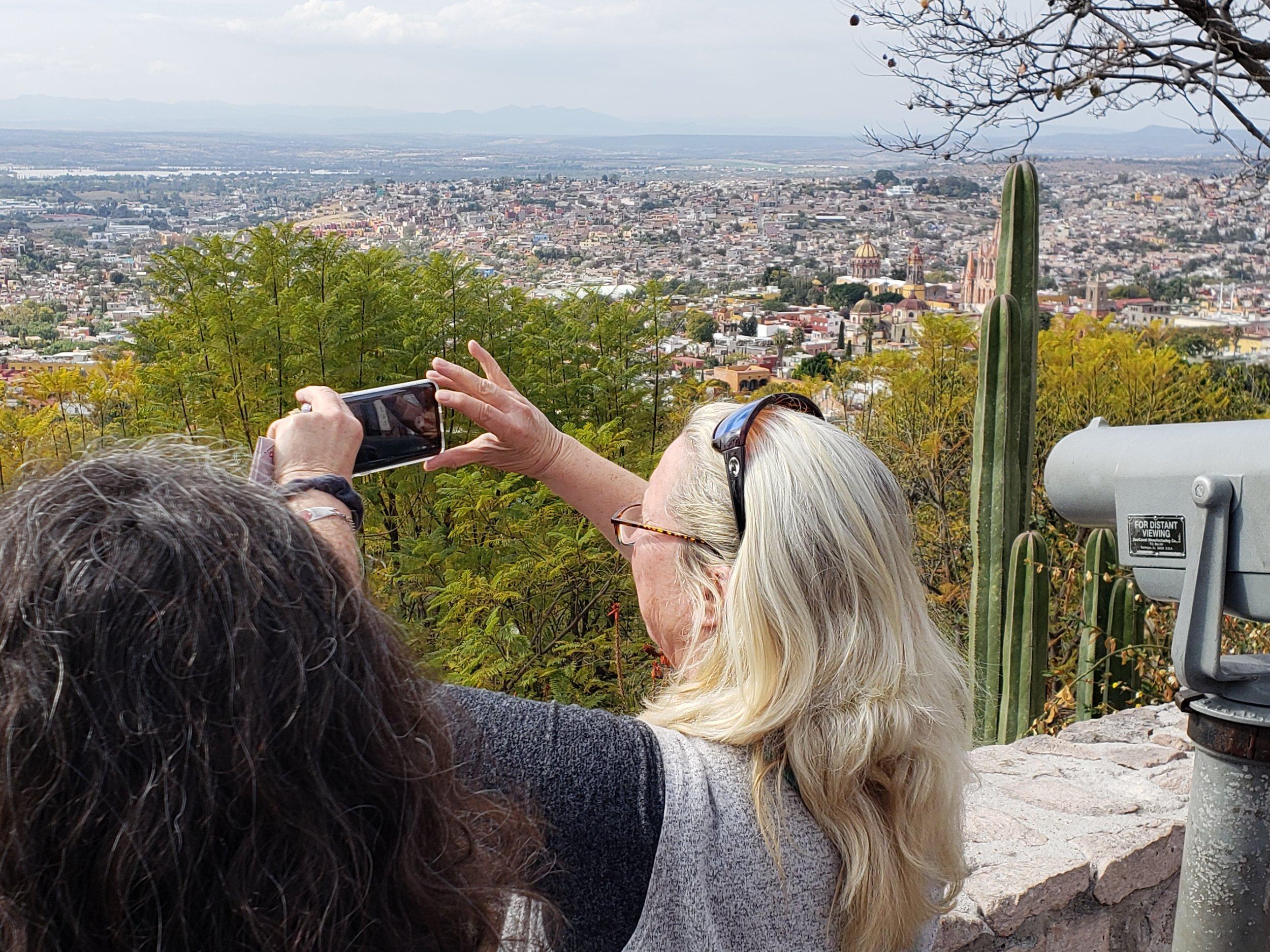 Overlooking San Miguel