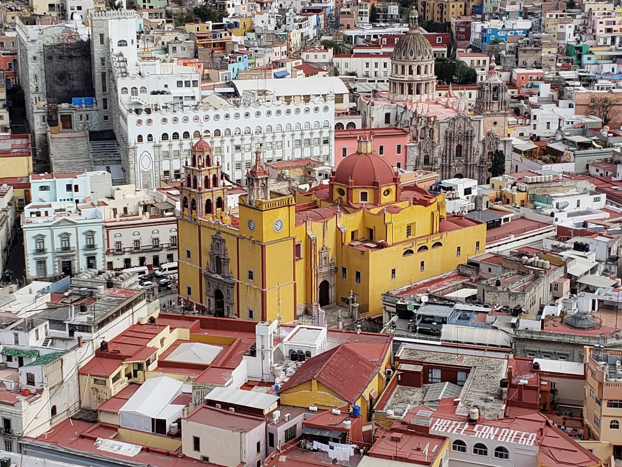 Overlooking Guanajuato