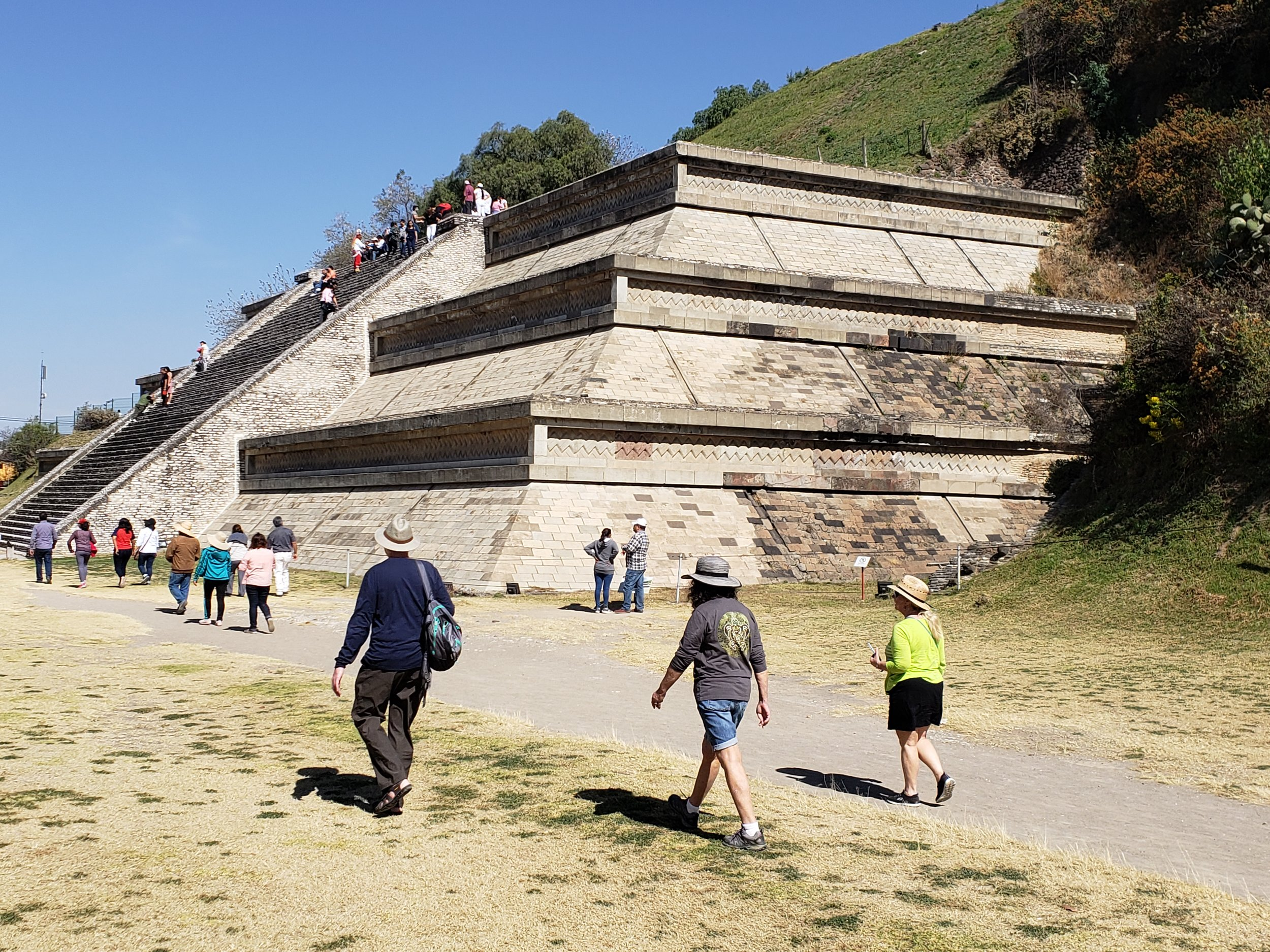 Cholulu ruins