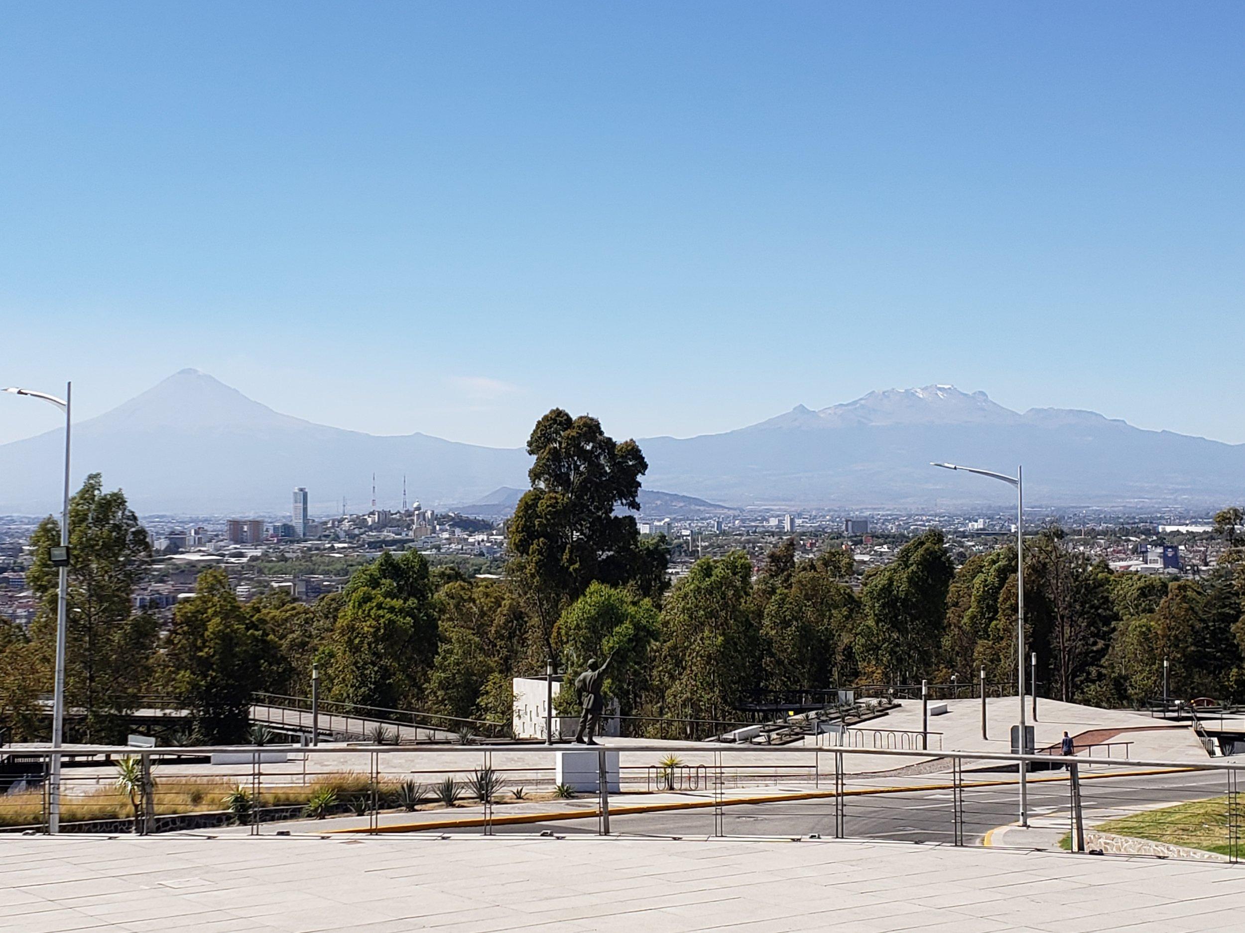 Memorial to Cinco de Mayo battle with France in Puebla