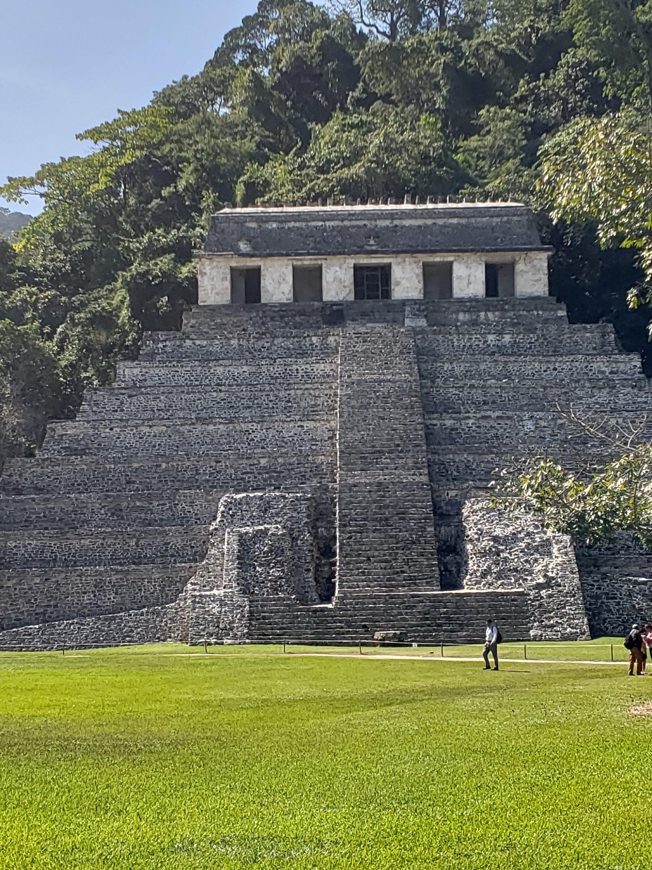 The famous Mayan ruins at Palenque