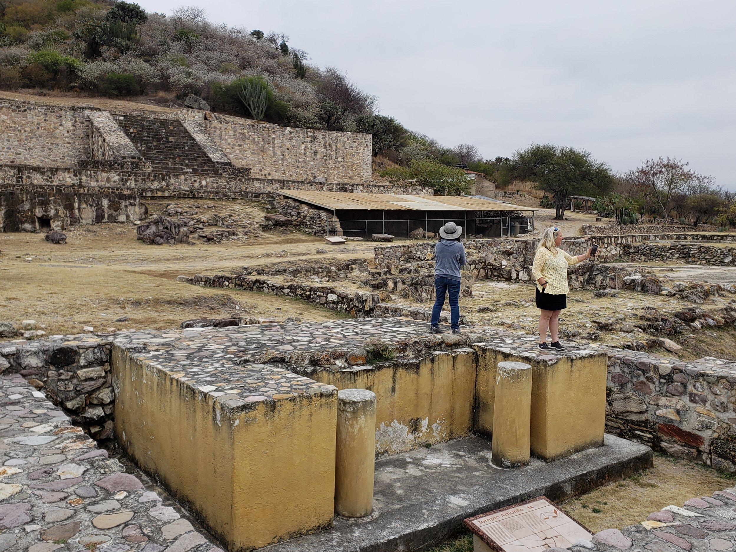 Ruins outside of Oaxaca