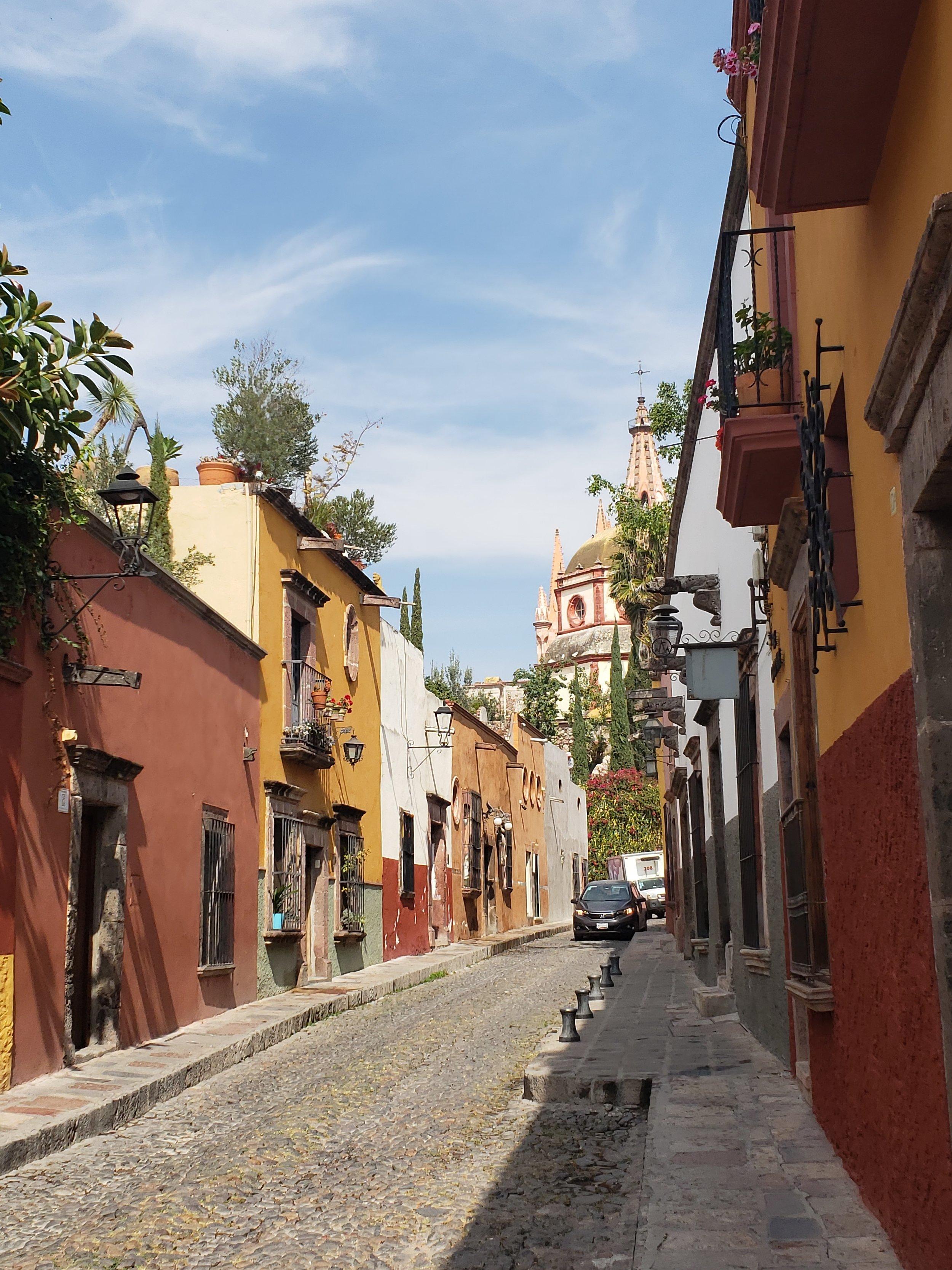 Street scene in San Miguel